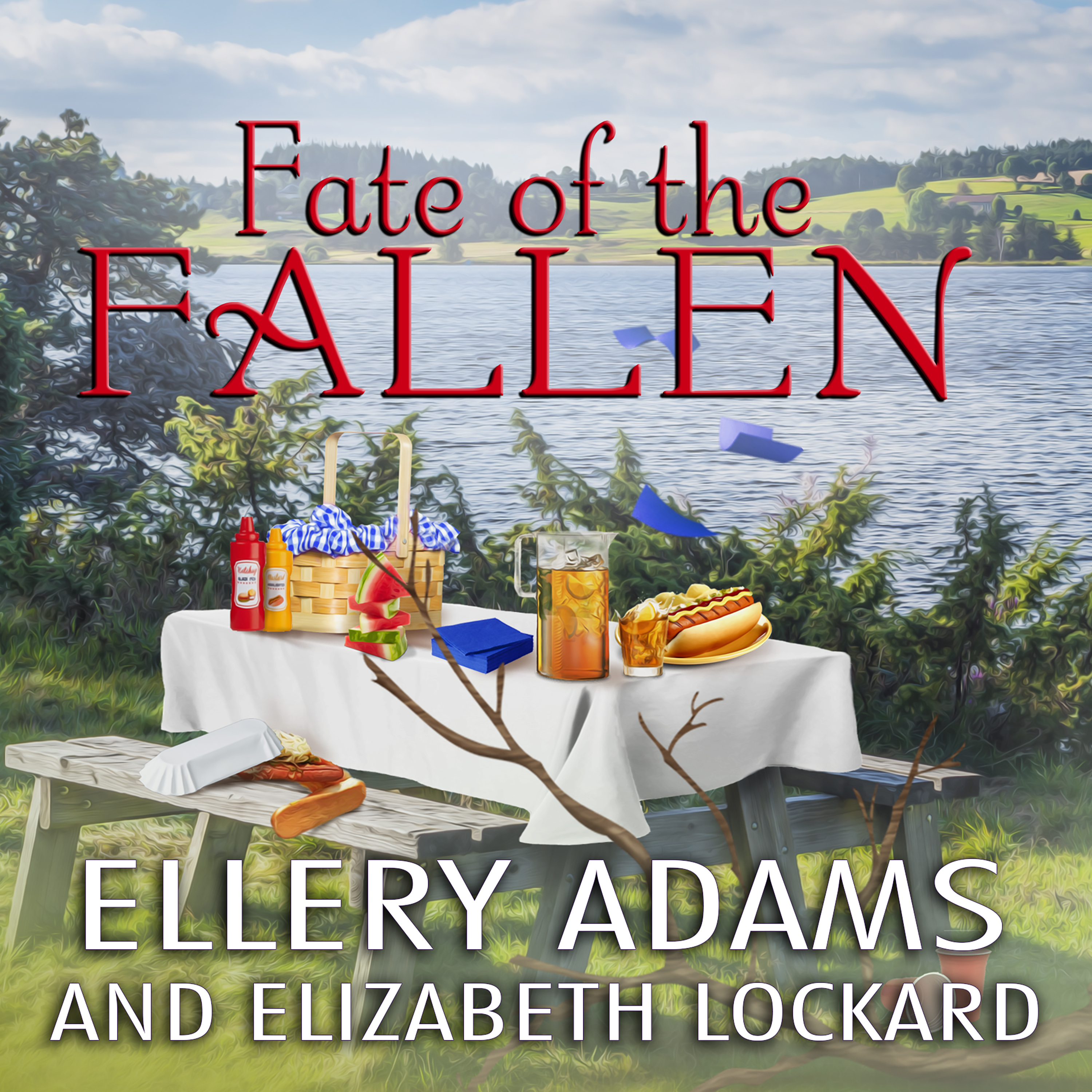 Printable Fate of the Fallen Audiobook Cover Art