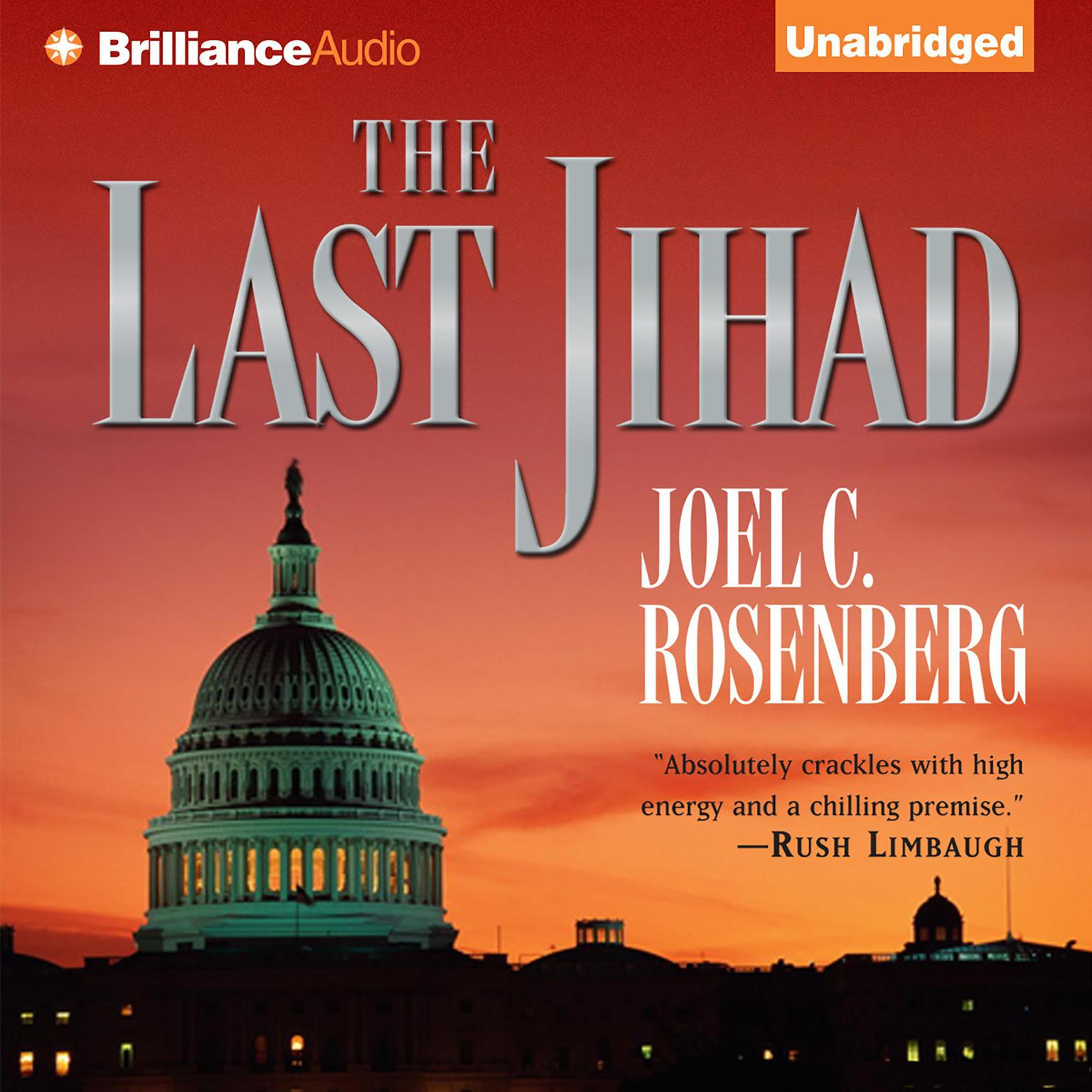 Printable The Last Jihad Audiobook Cover Art