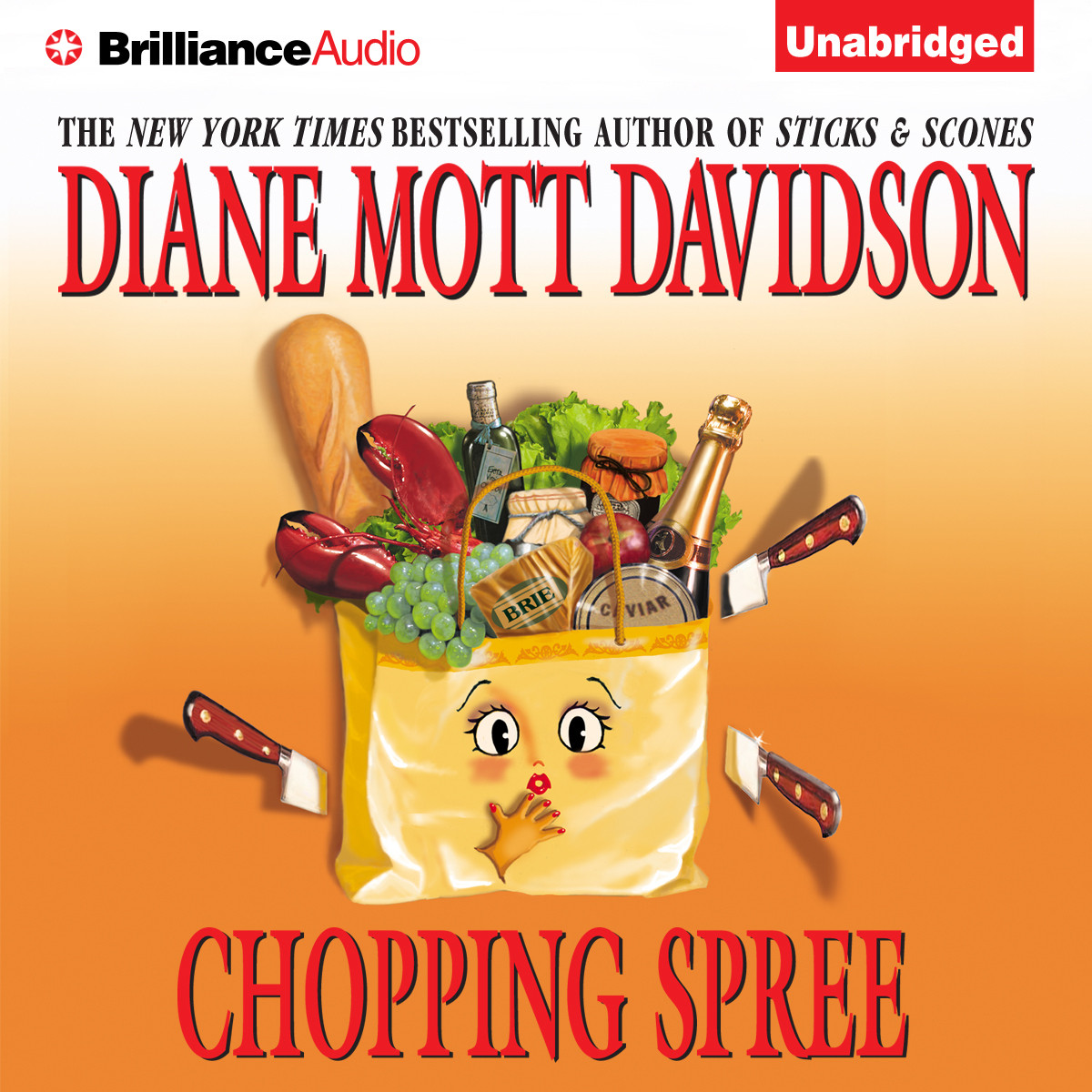 Printable Chopping Spree Audiobook Cover Art