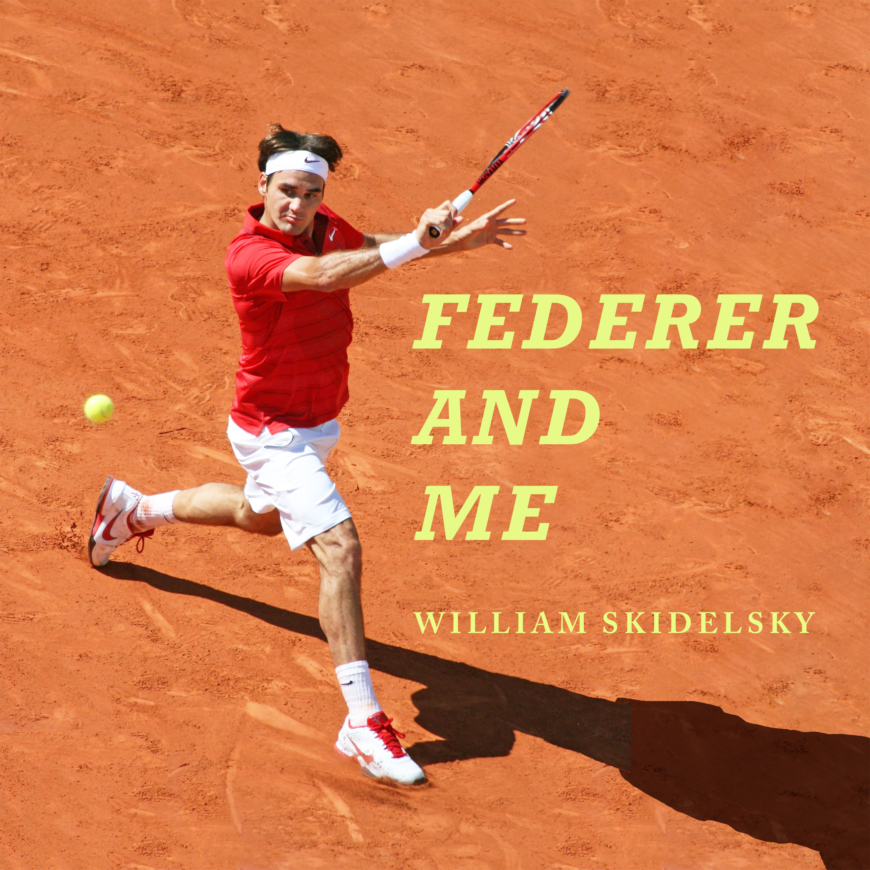 Printable Federer and Me: A Story of Obsession Audiobook Cover Art