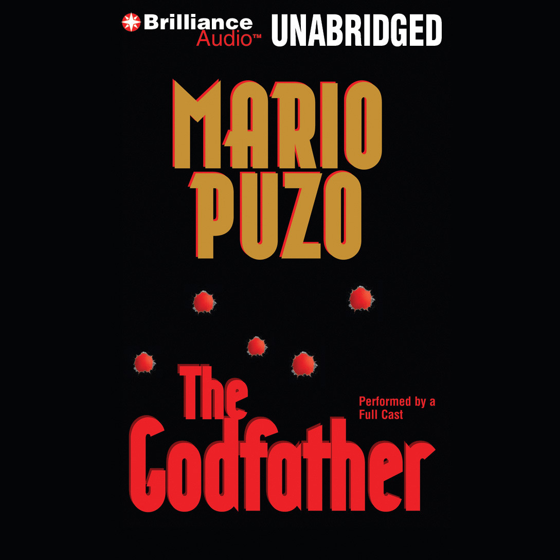Printable The Godfather Multivoice Presentation Audiobook Cover Art