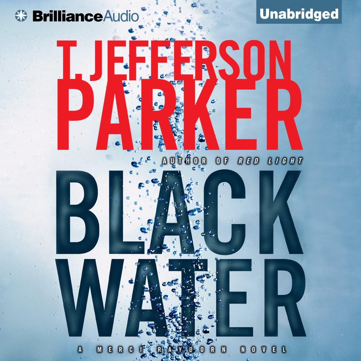 Printable Black Water Audiobook Cover Art