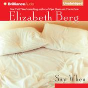 Say When Audiobook, by Elizabeth Berg