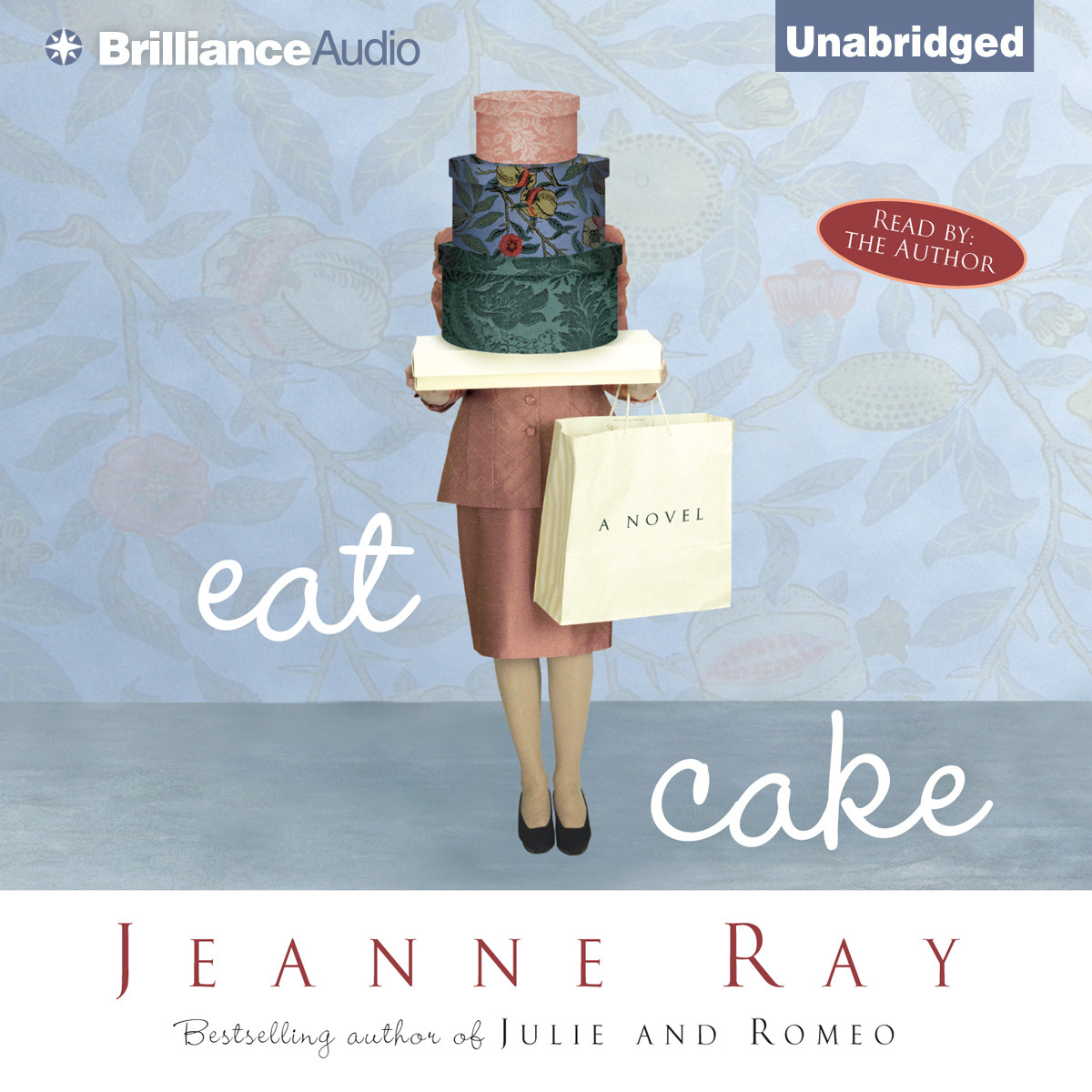Printable Eat Cake Audiobook Cover Art