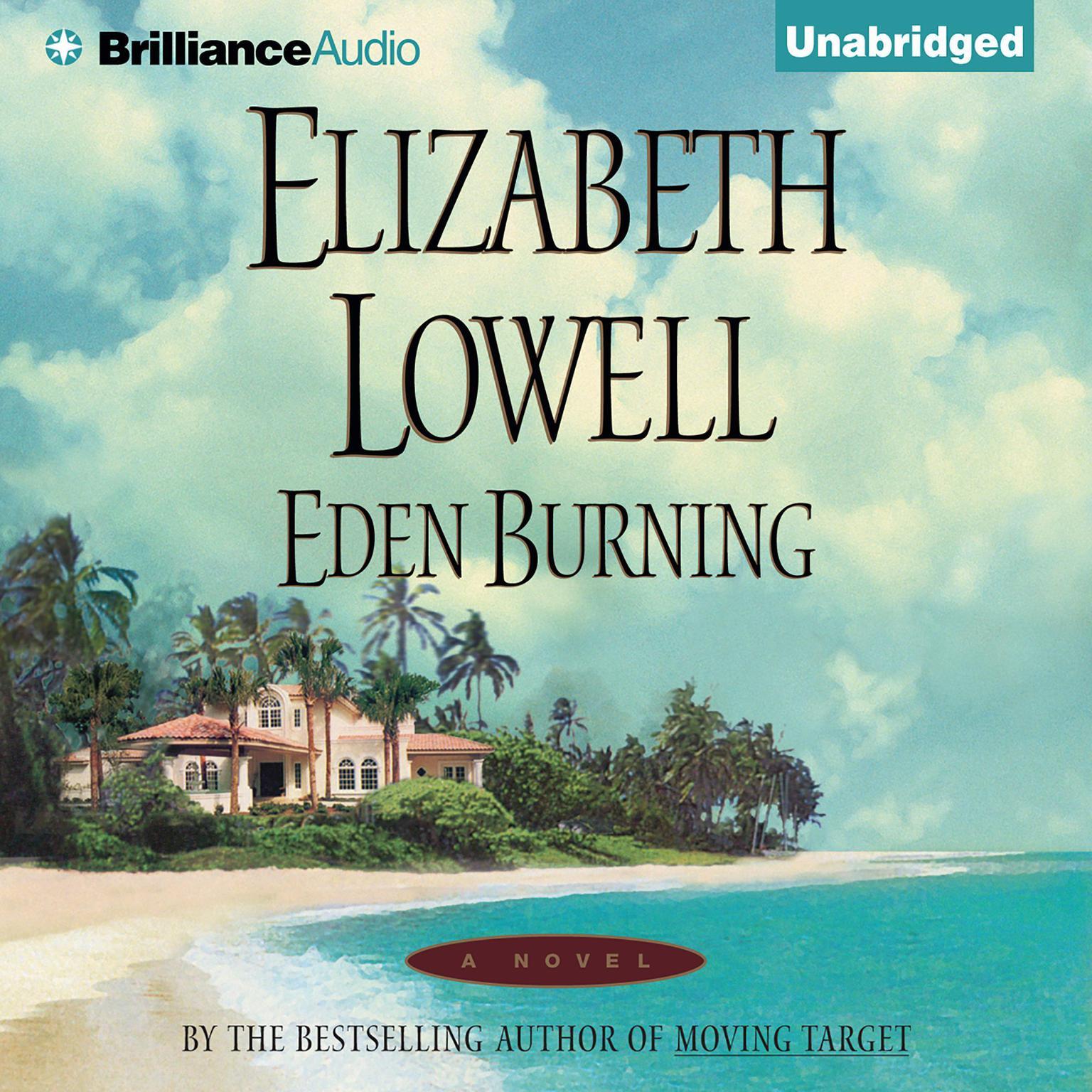 Printable Eden Burning Audiobook Cover Art