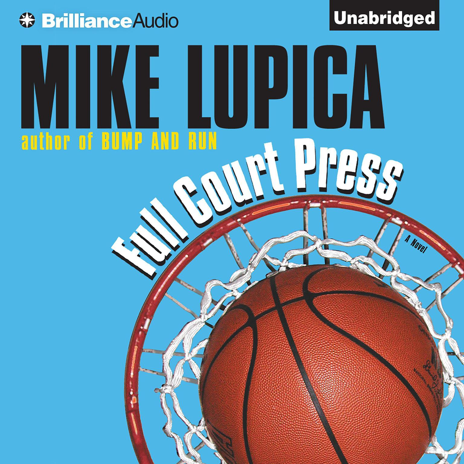 Printable Full Court Press Audiobook Cover Art