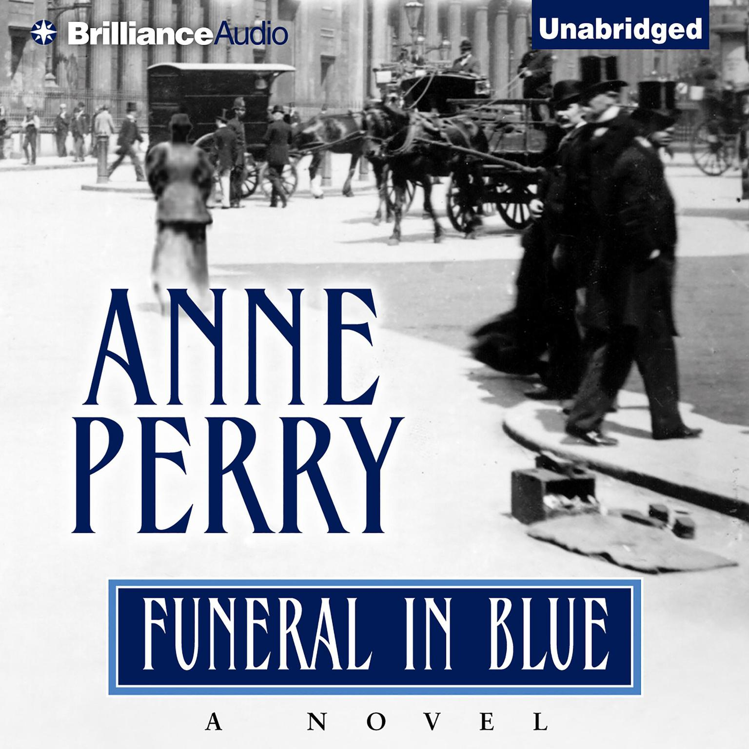 Printable Funeral in Blue Audiobook Cover Art