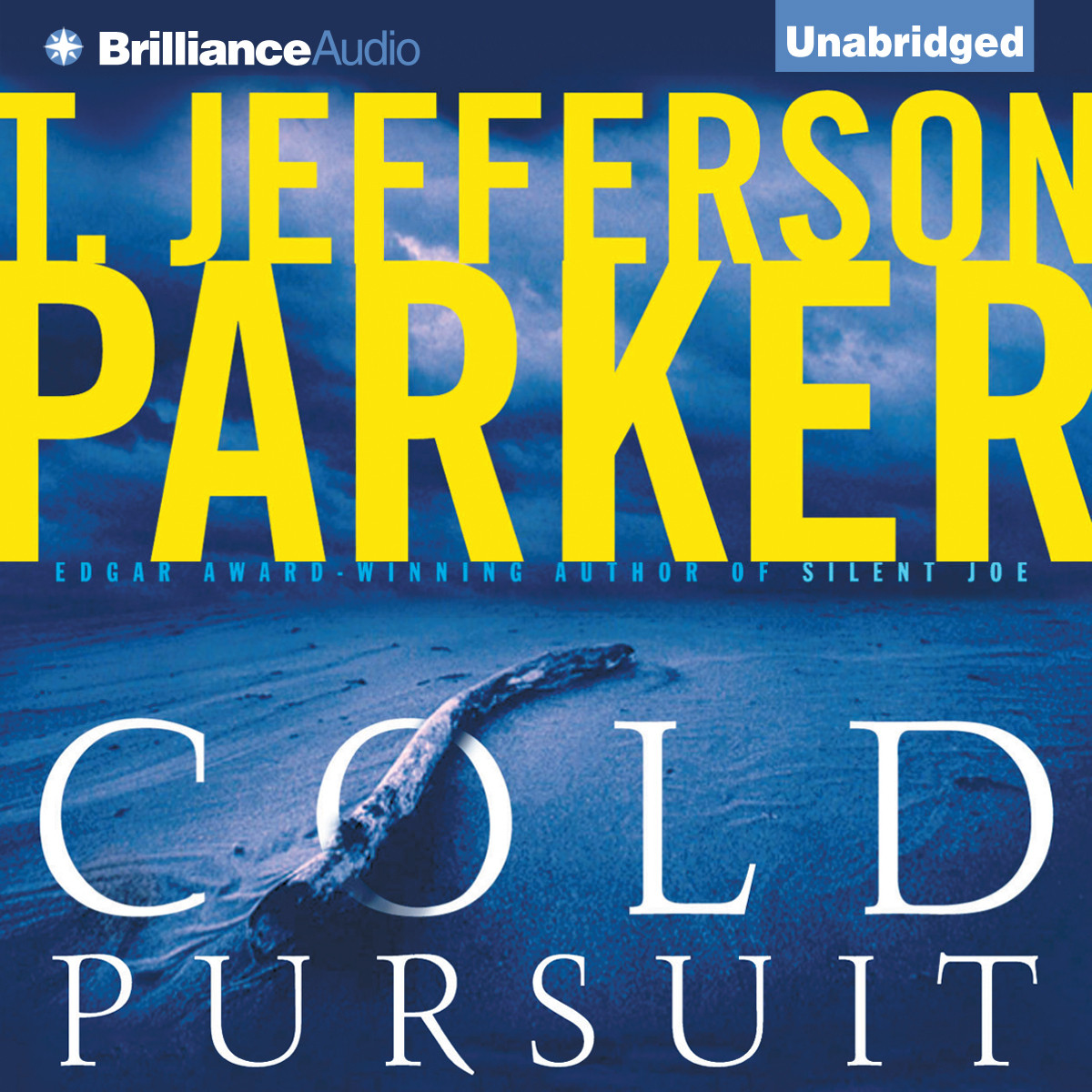 Printable Cold Pursuit Audiobook Cover Art