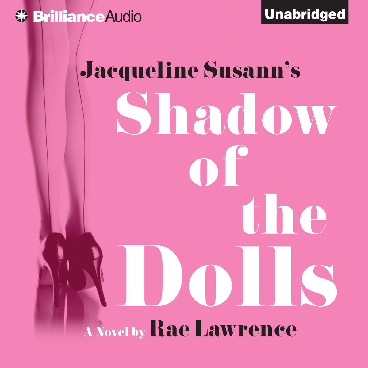 Printable Jacqueline Susann's Shadow of the Dolls Audiobook Cover Art