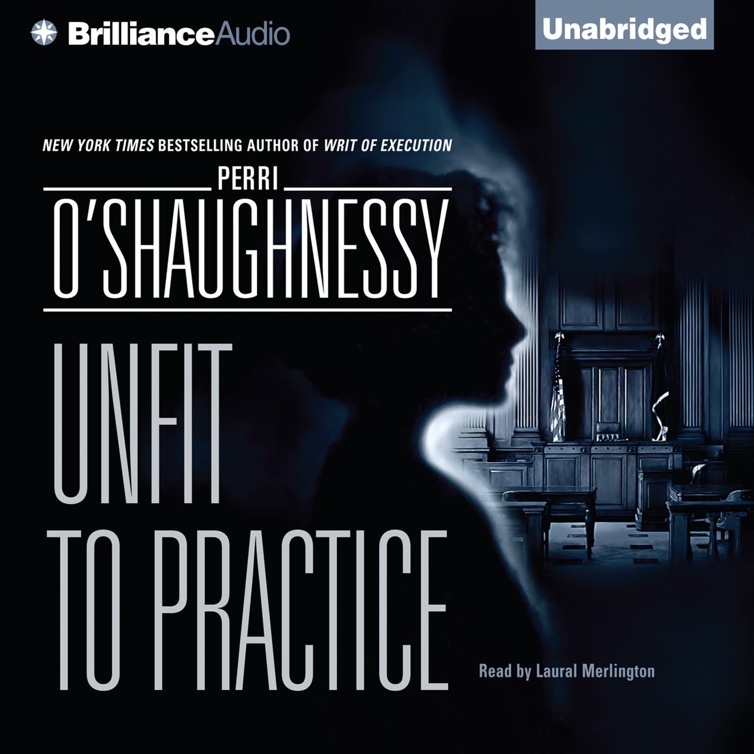 Printable Unfit to Practice Audiobook Cover Art