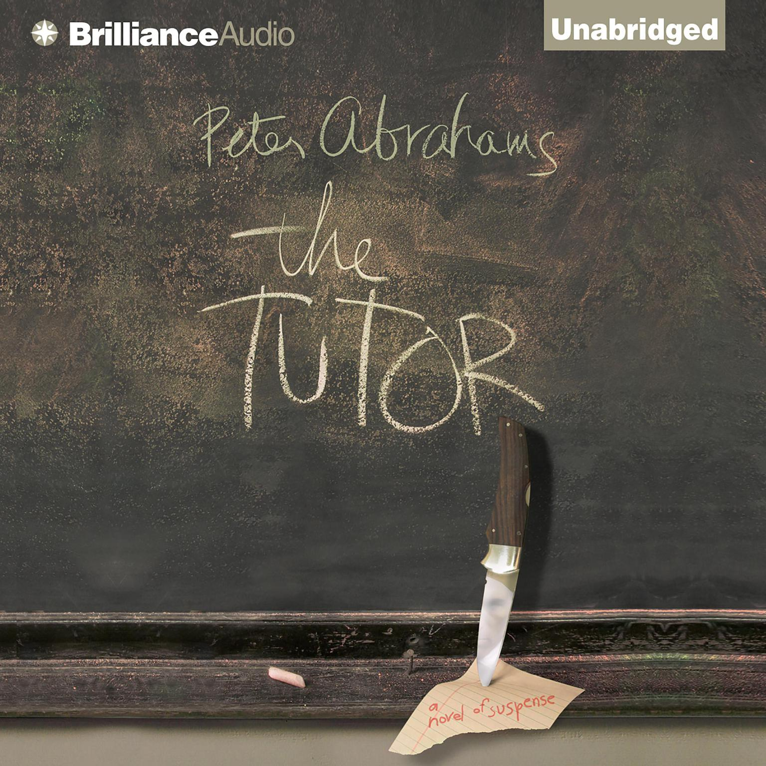 Printable The Tutor: A Novel of Suspense Audiobook Cover Art