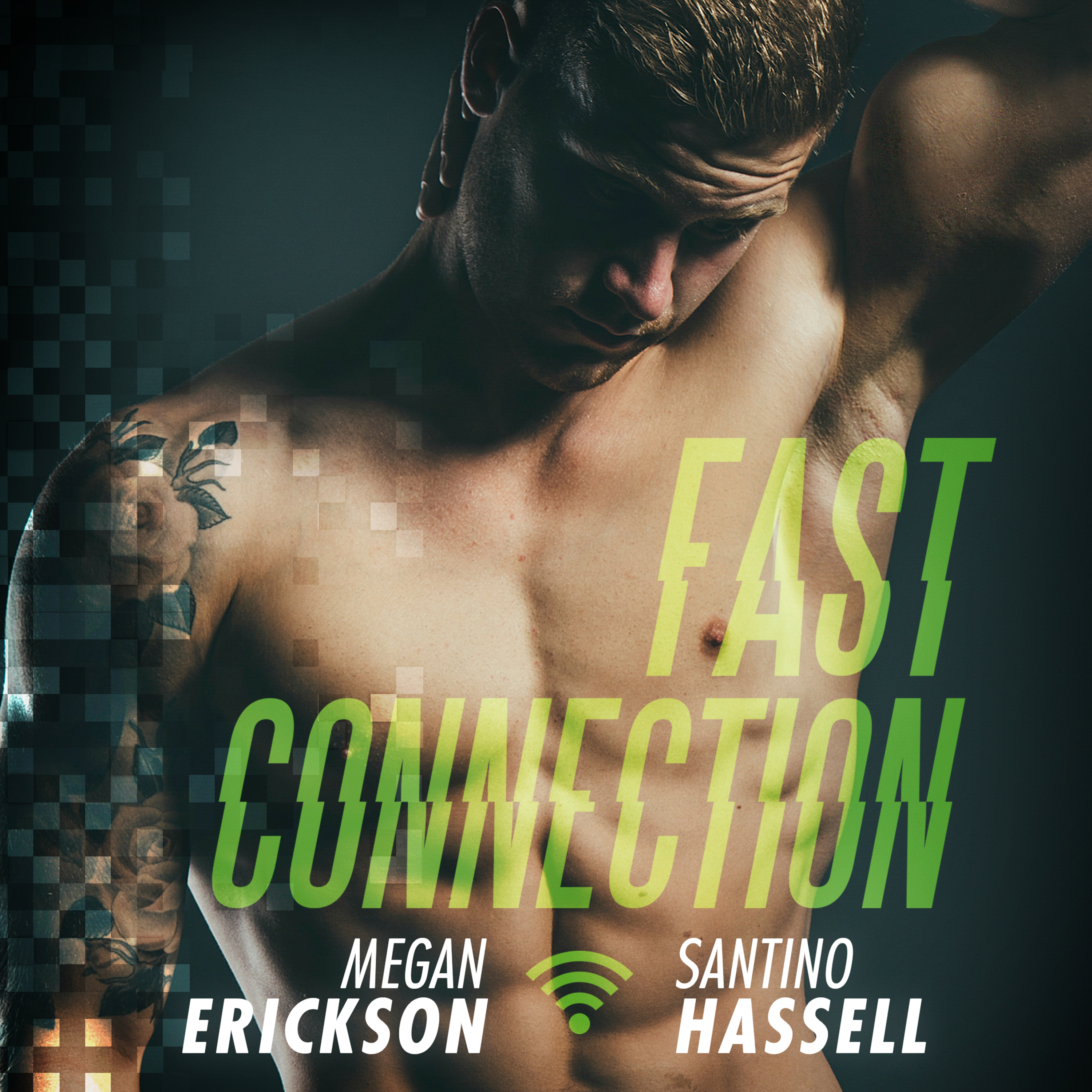 Printable Fast Connection Audiobook Cover Art