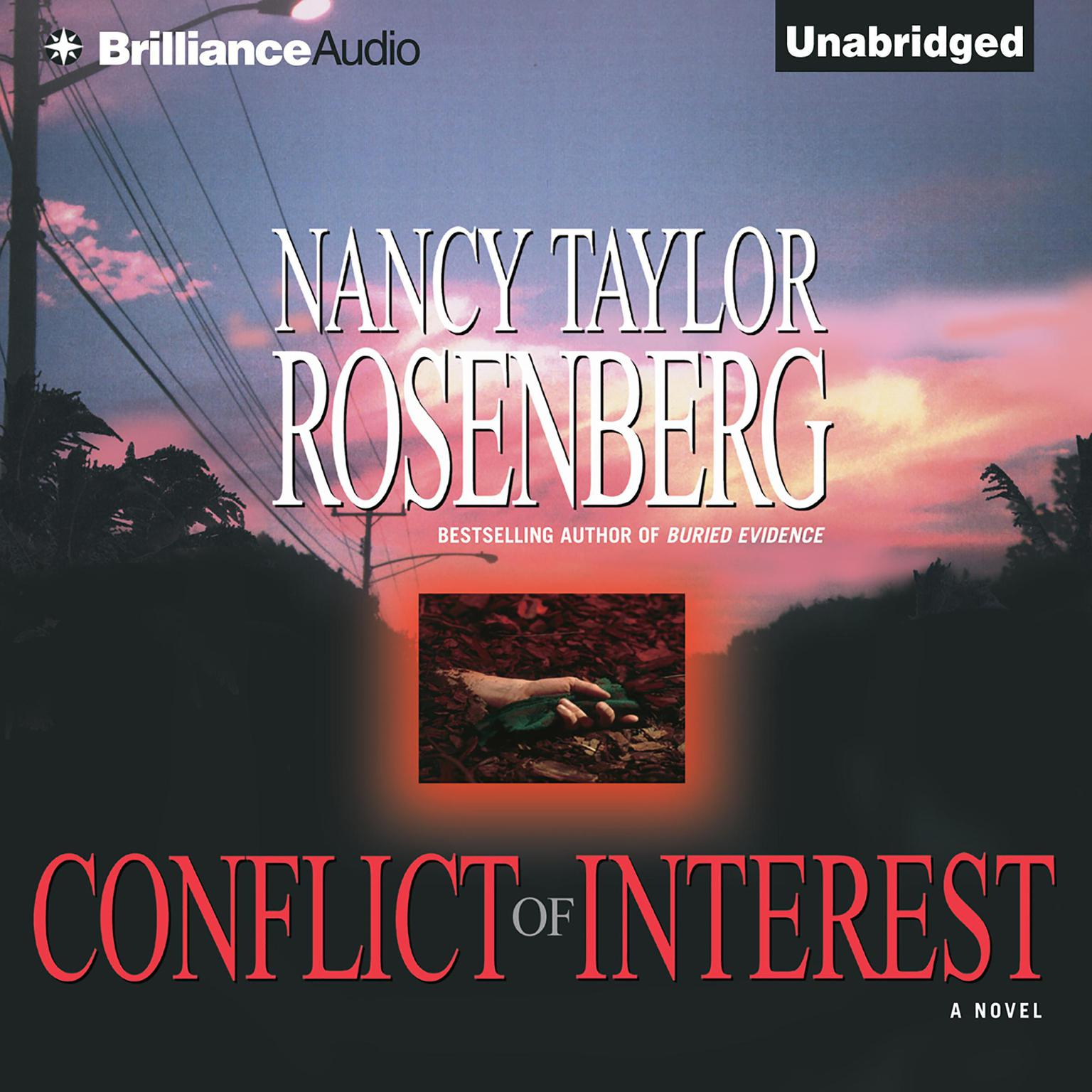 Printable Conflict of Interest Audiobook Cover Art