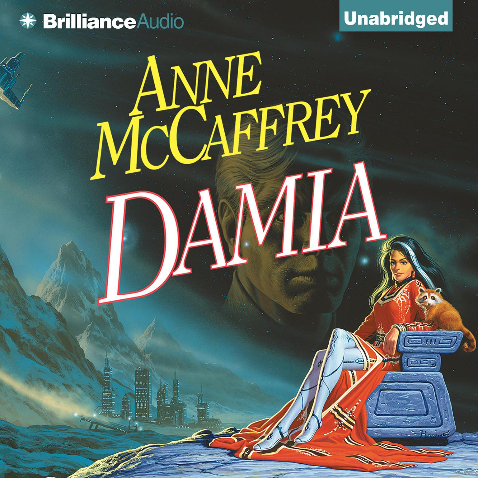 Printable Damia Audiobook Cover Art