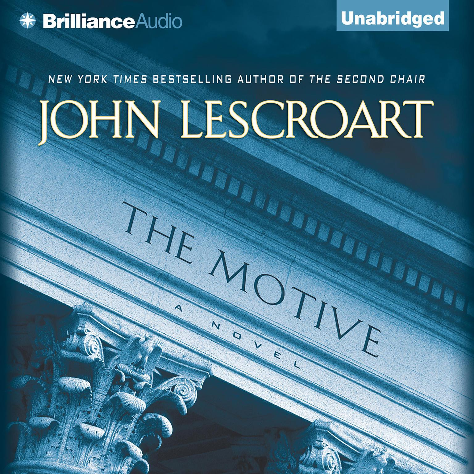 Printable The Motive Audiobook Cover Art
