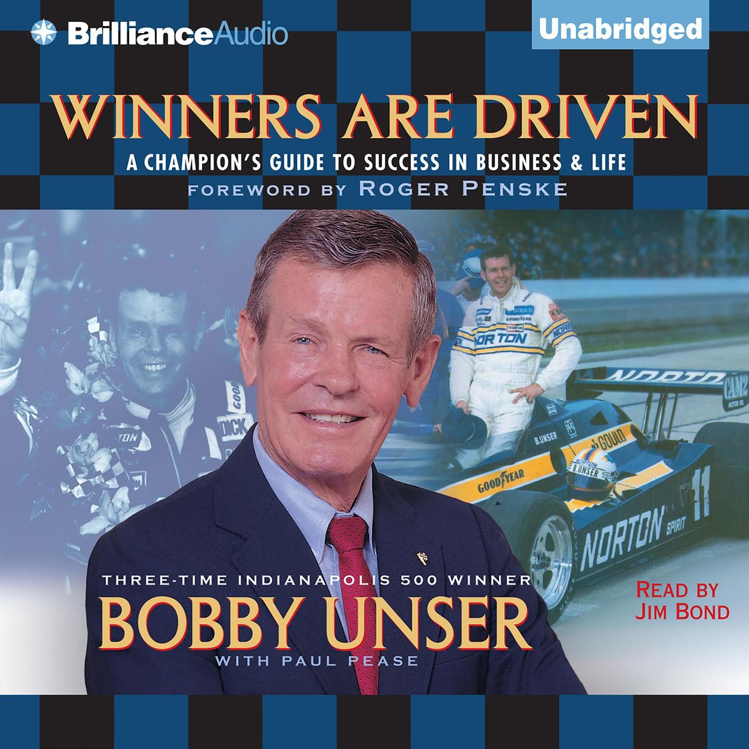 Printable Winners Are Driven: A Champion's Guide to Success in Business and Life Audiobook Cover Art