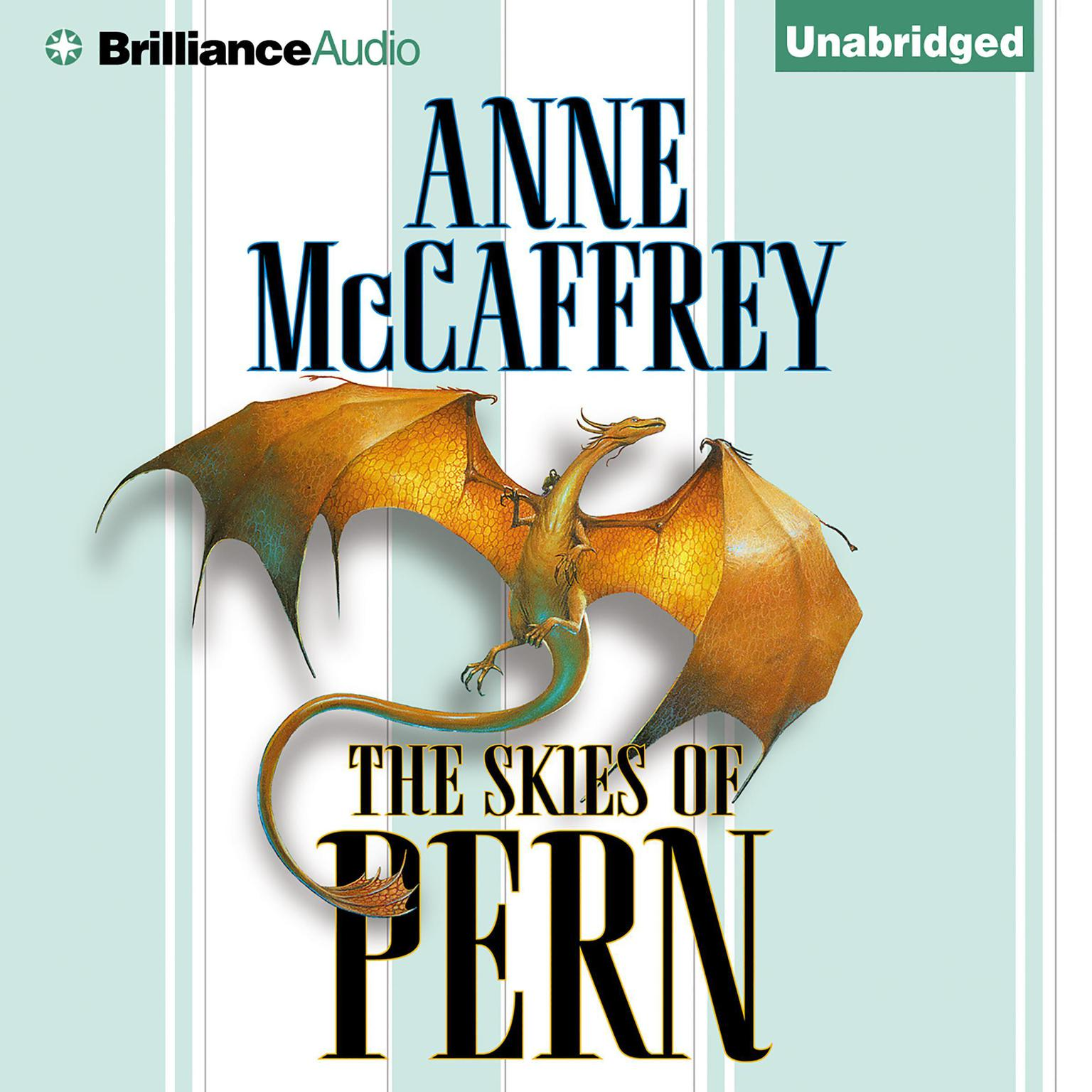 Printable The Skies of Pern Audiobook Cover Art
