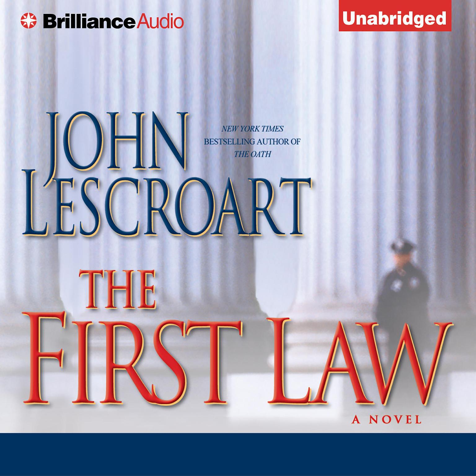 Printable The First Law Audiobook Cover Art