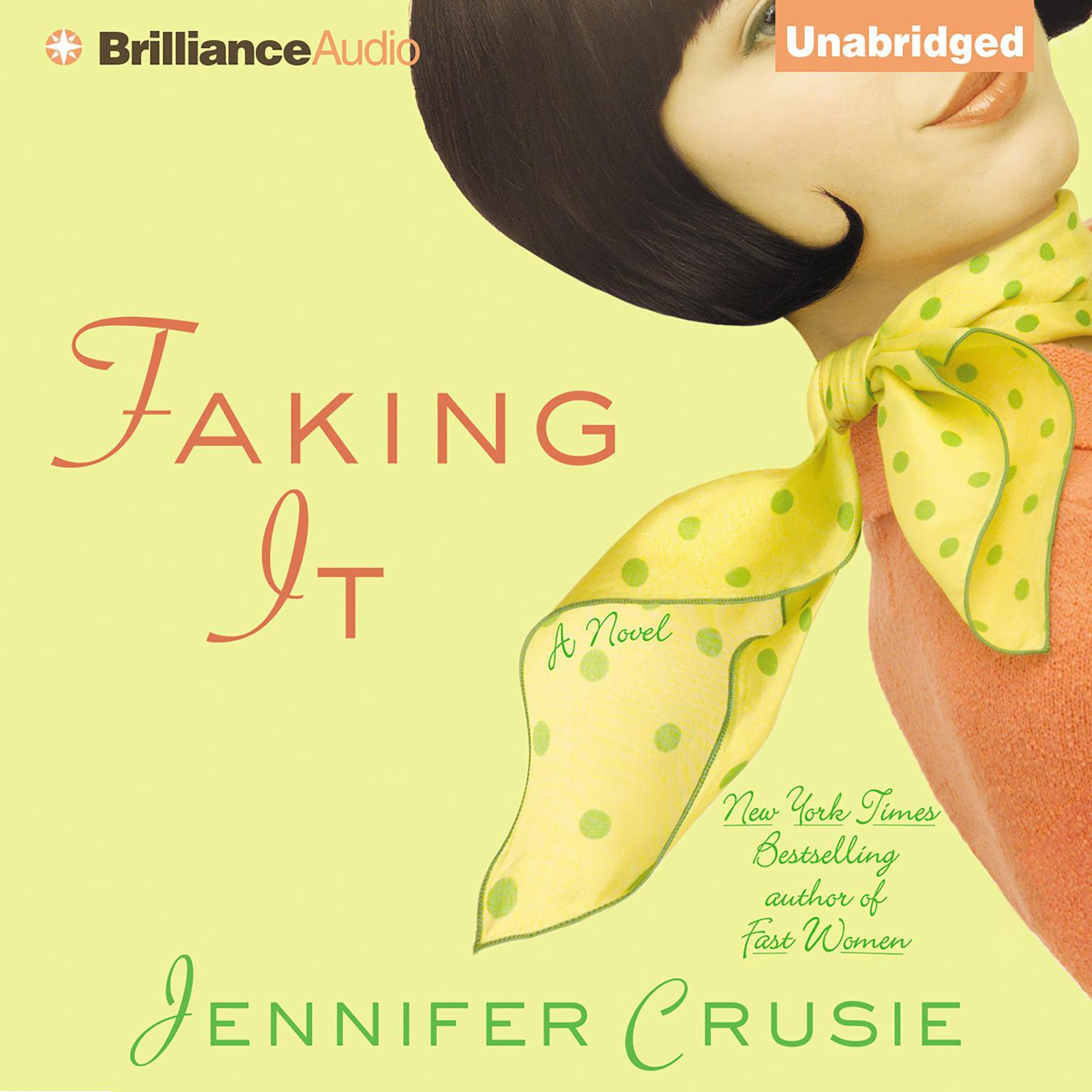 Printable Faking It Audiobook Cover Art
