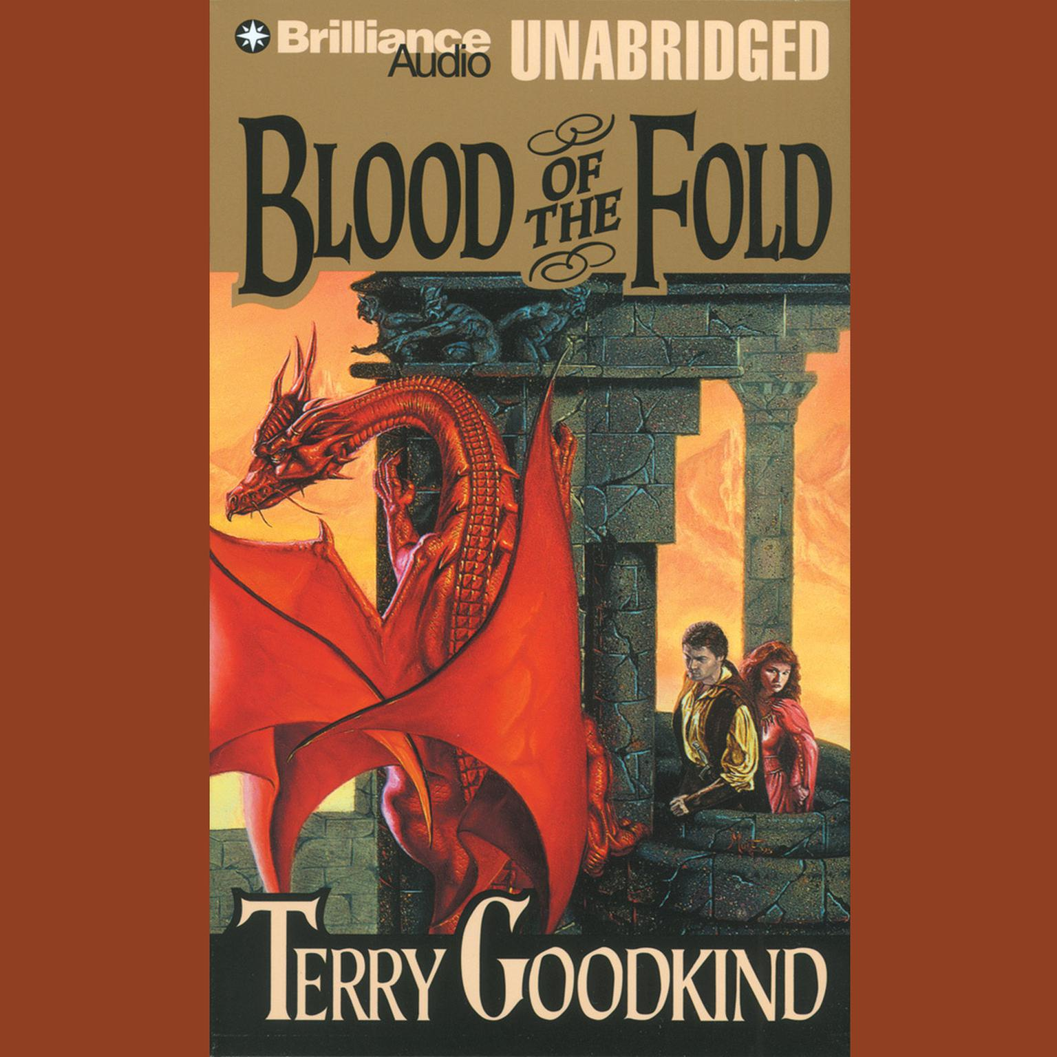 Printable Blood of the Fold Audiobook Cover Art