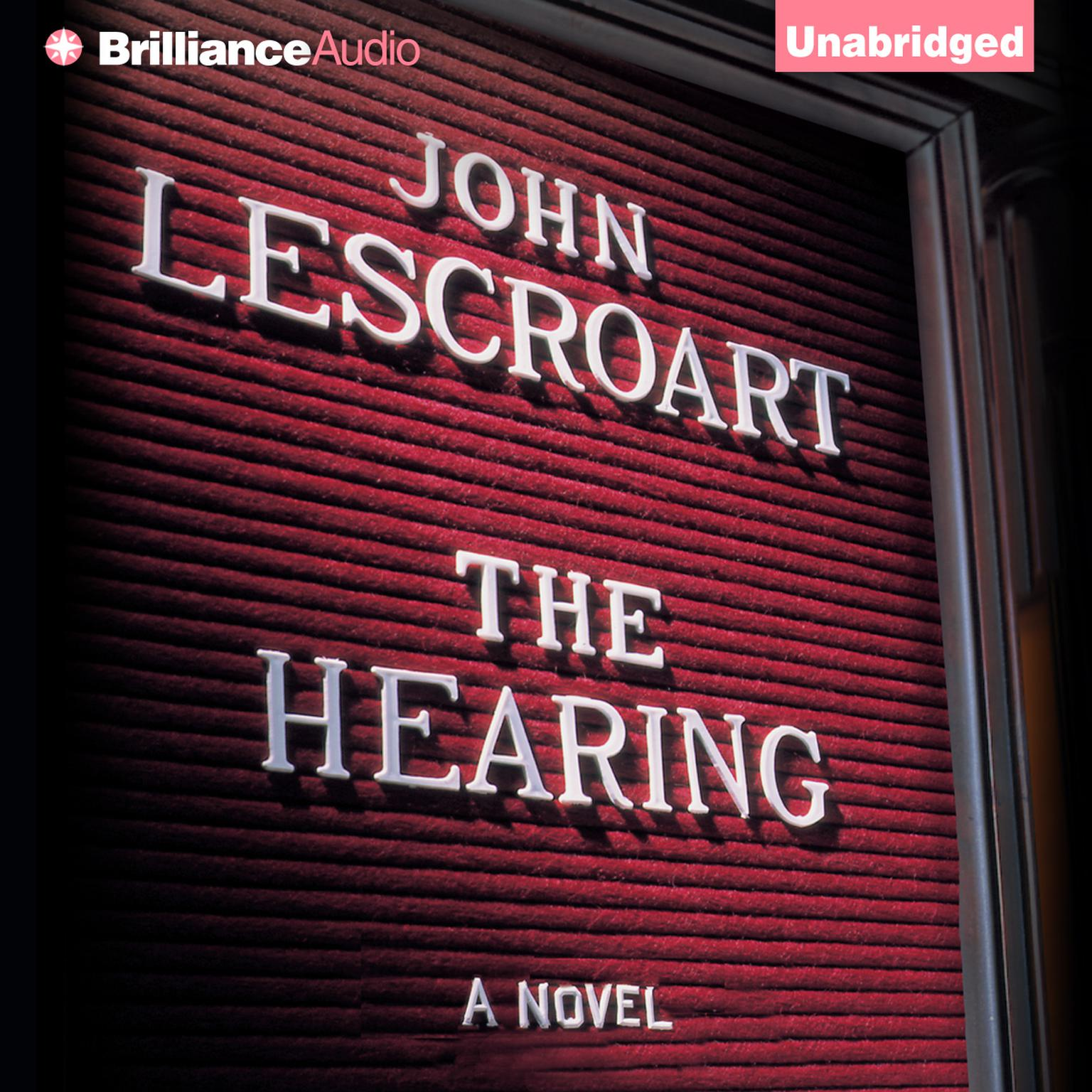 Printable The Hearing: A Novel Audiobook Cover Art