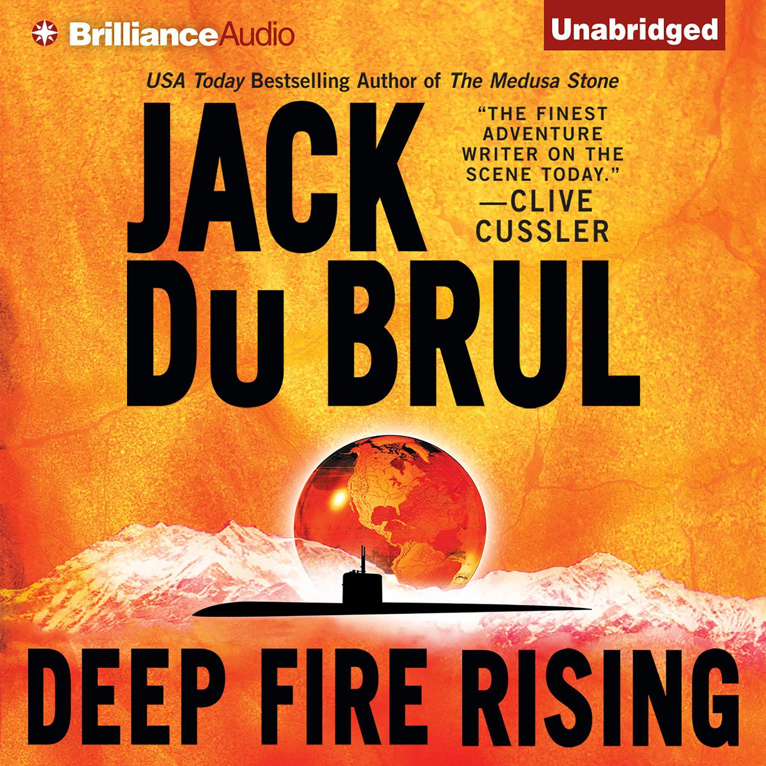 Printable Deep Fire Rising Audiobook Cover Art