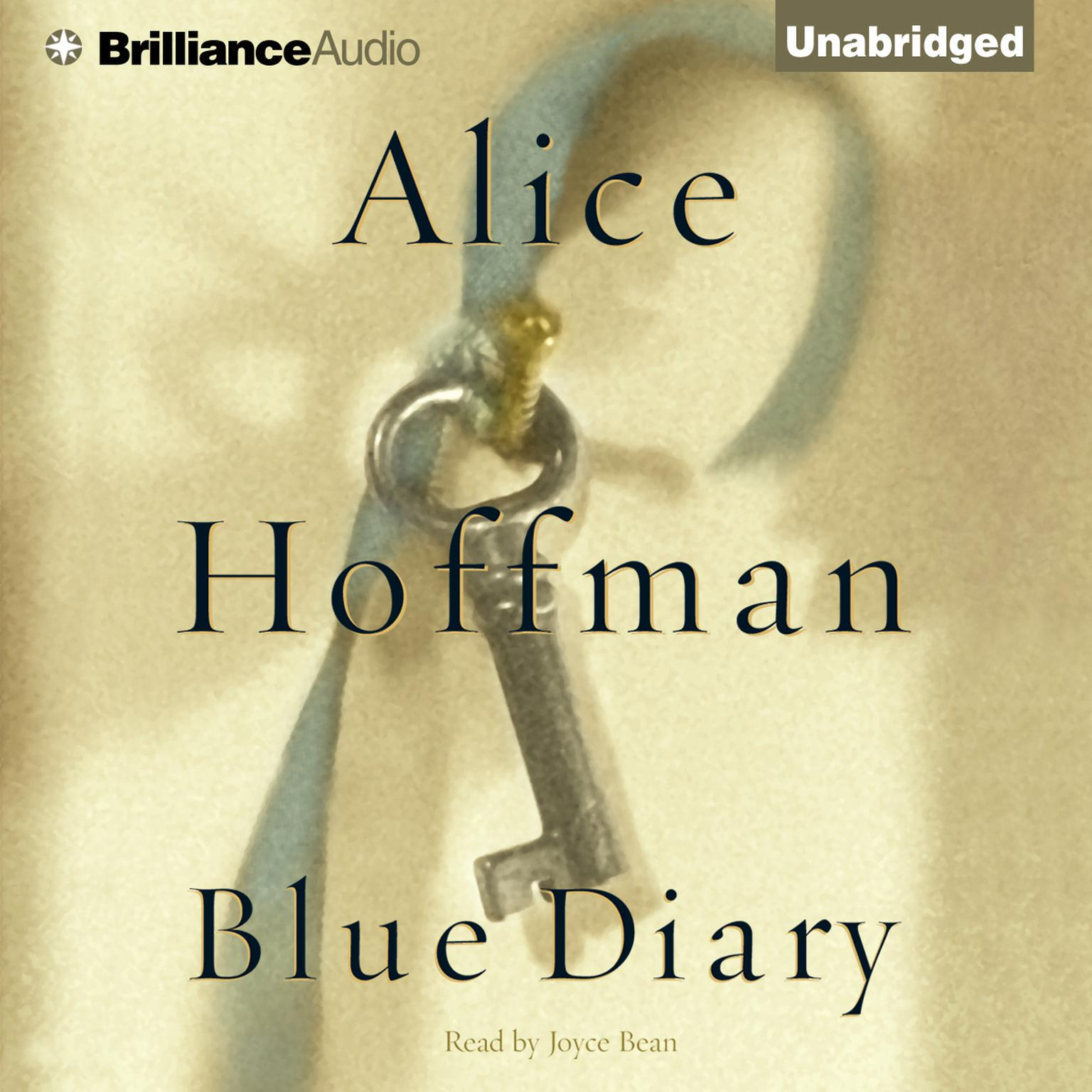 Printable Blue Diary Audiobook Cover Art