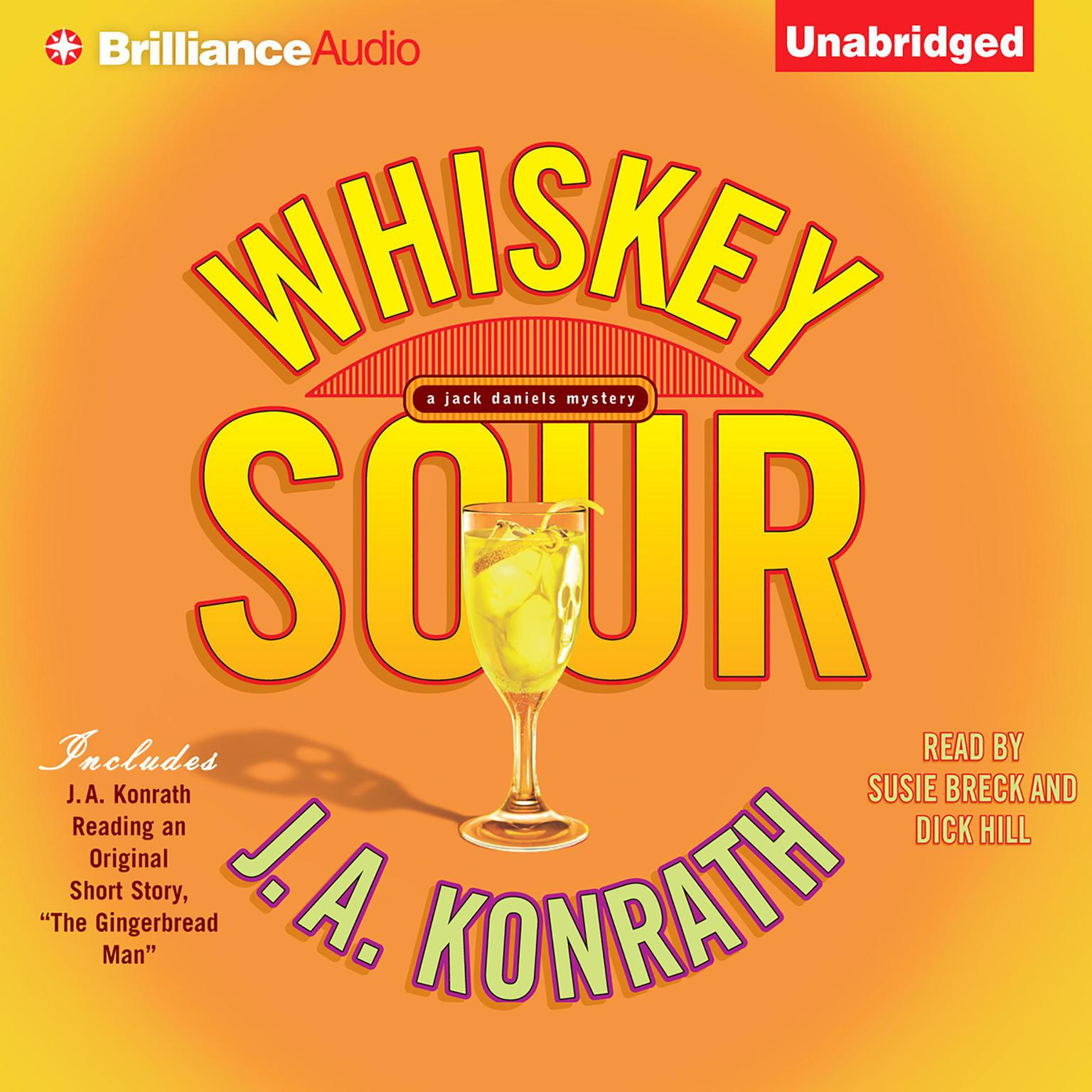 Printable Whiskey Sour Audiobook Cover Art