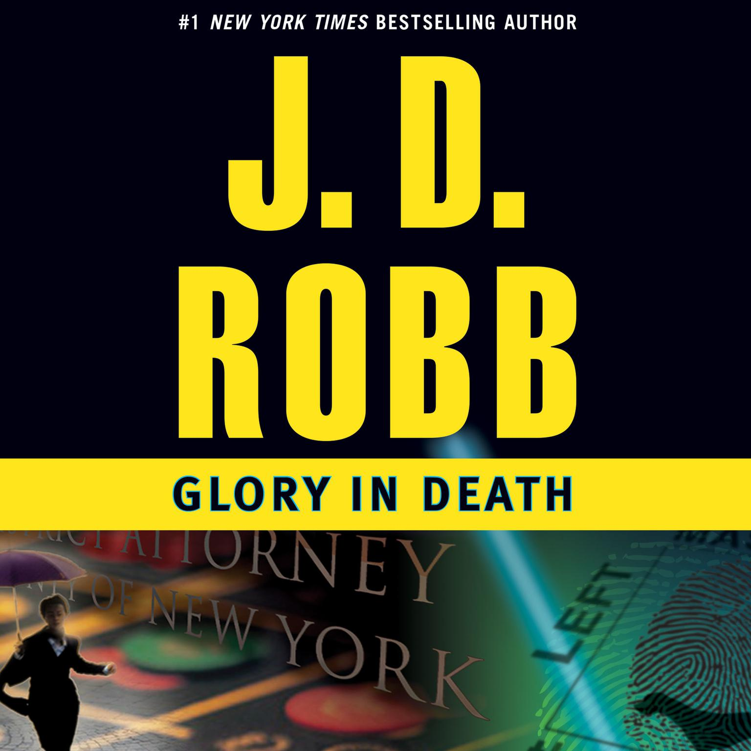 Printable Glory in Death Audiobook Cover Art