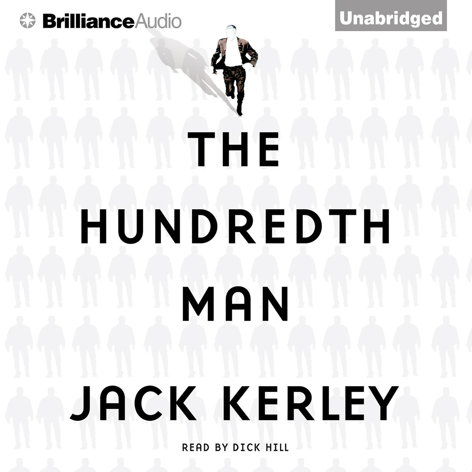 Printable The Hundredth Man Audiobook Cover Art