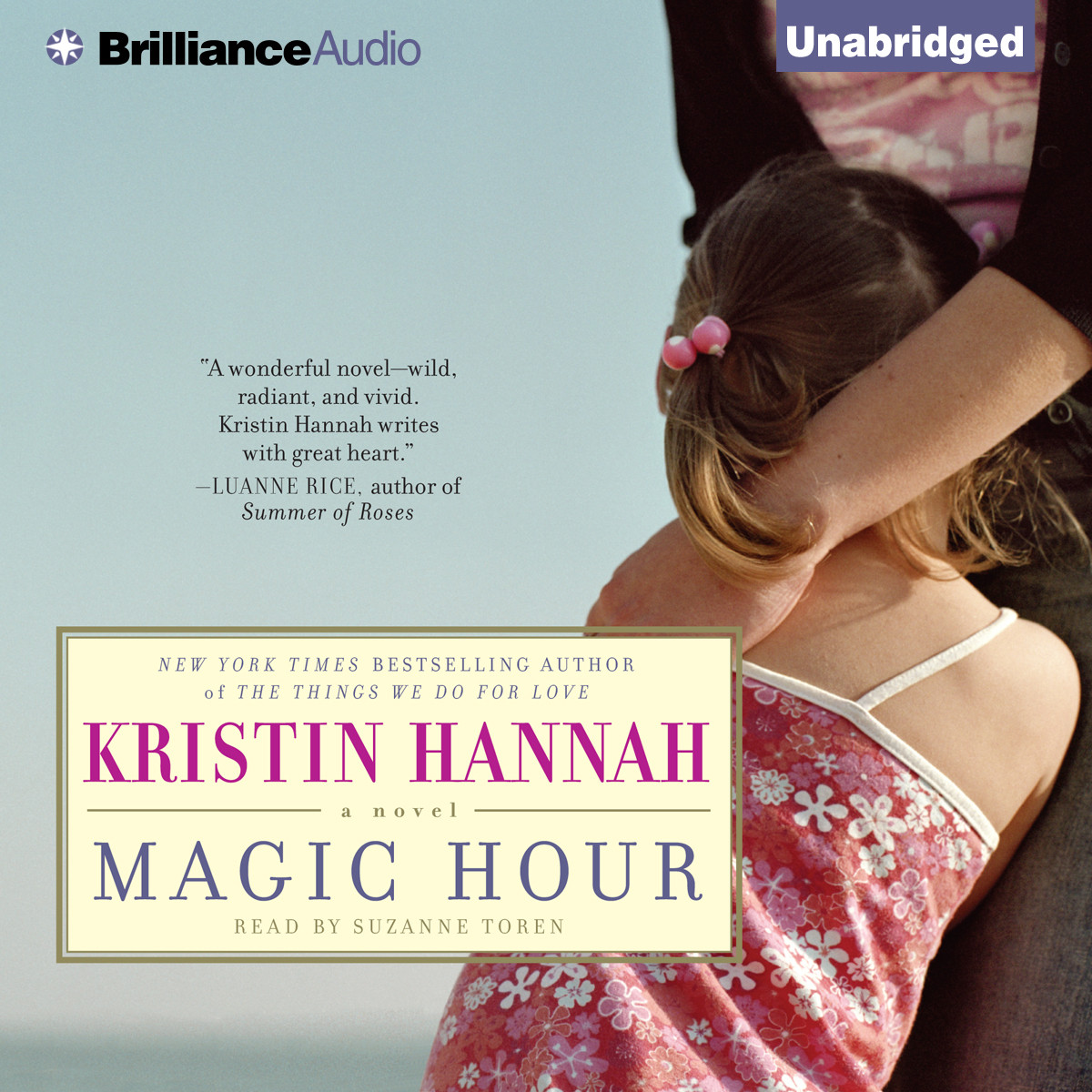 Printable Magic Hour Audiobook Cover Art