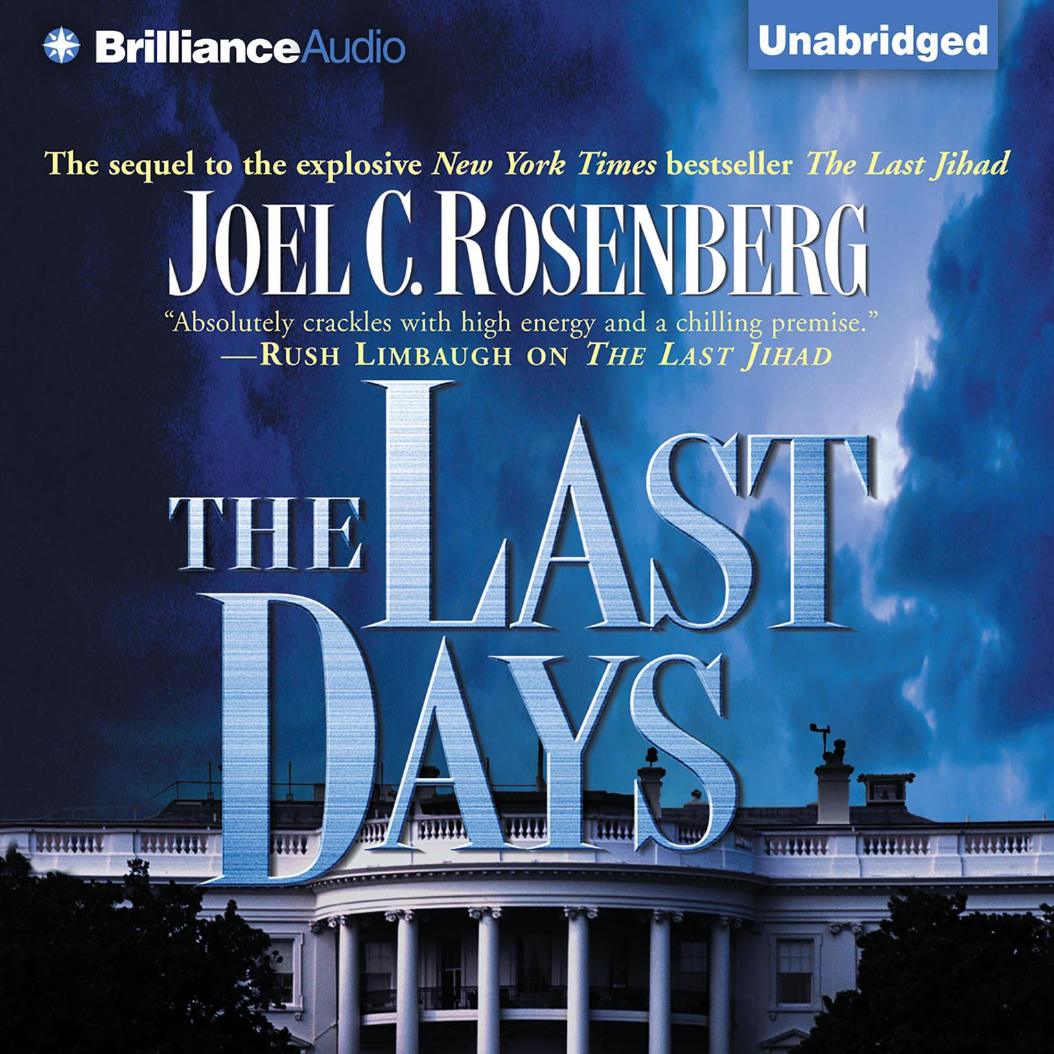 Printable The Last Days Audiobook Cover Art