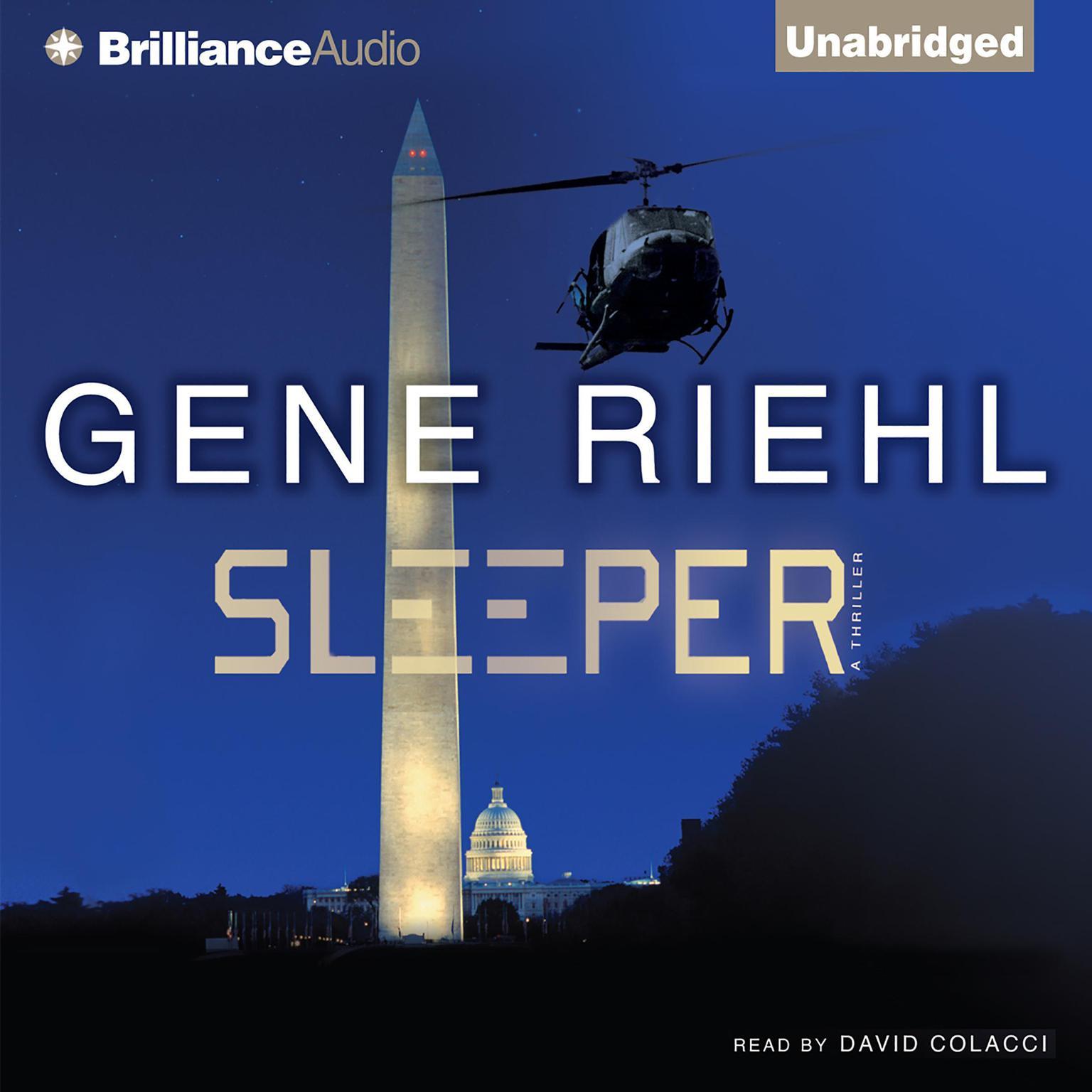 Printable Sleeper Audiobook Cover Art