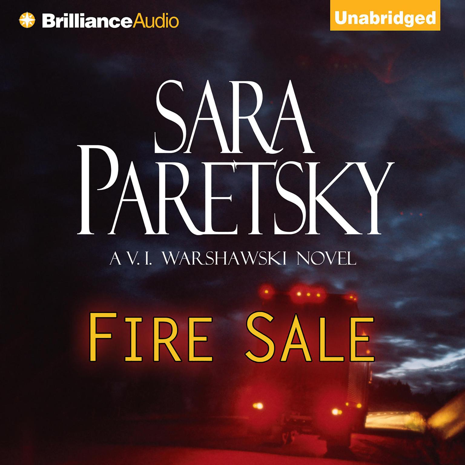 Printable Fire Sale Audiobook Cover Art