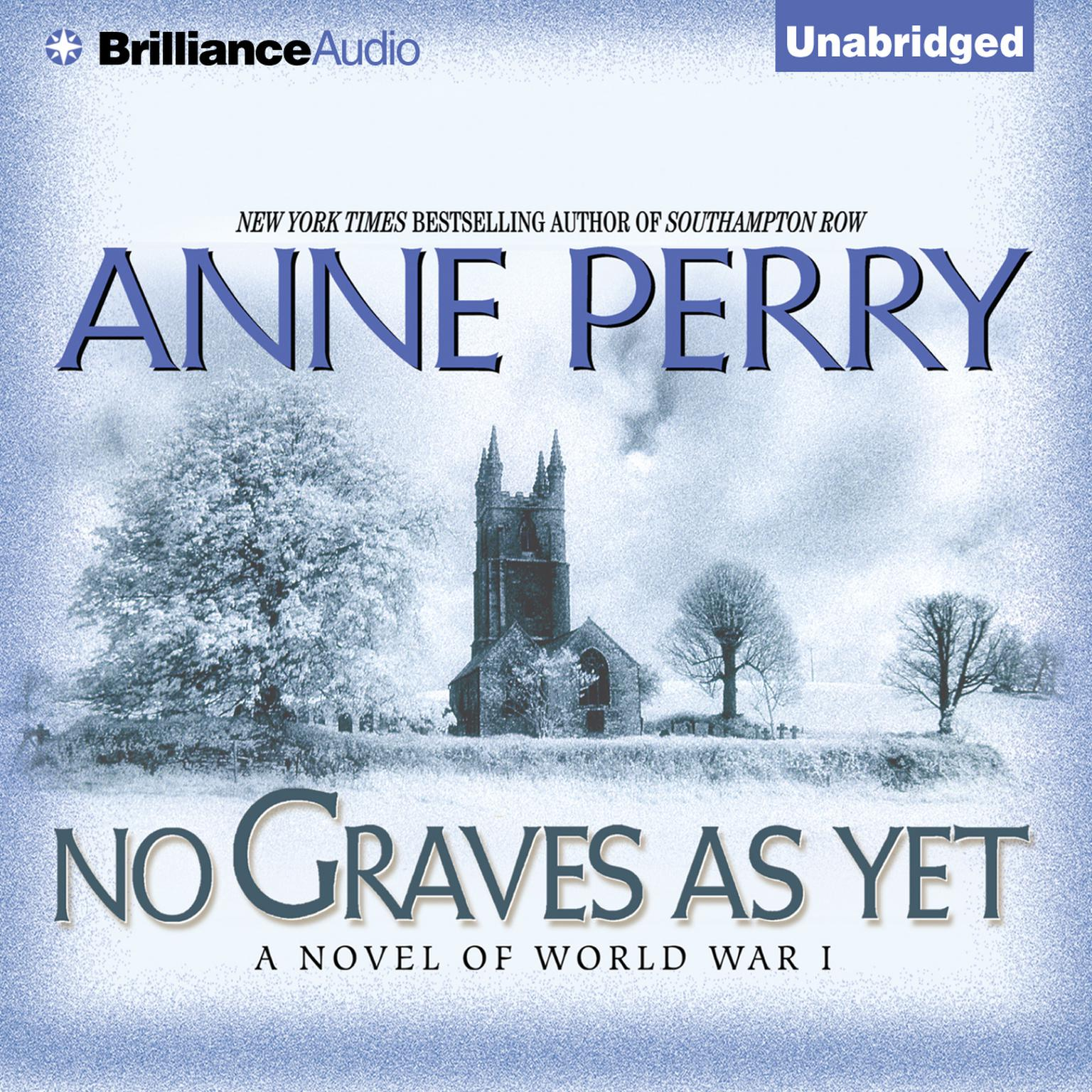 Printable No Graves As Yet: A Novel of World War One Audiobook Cover Art