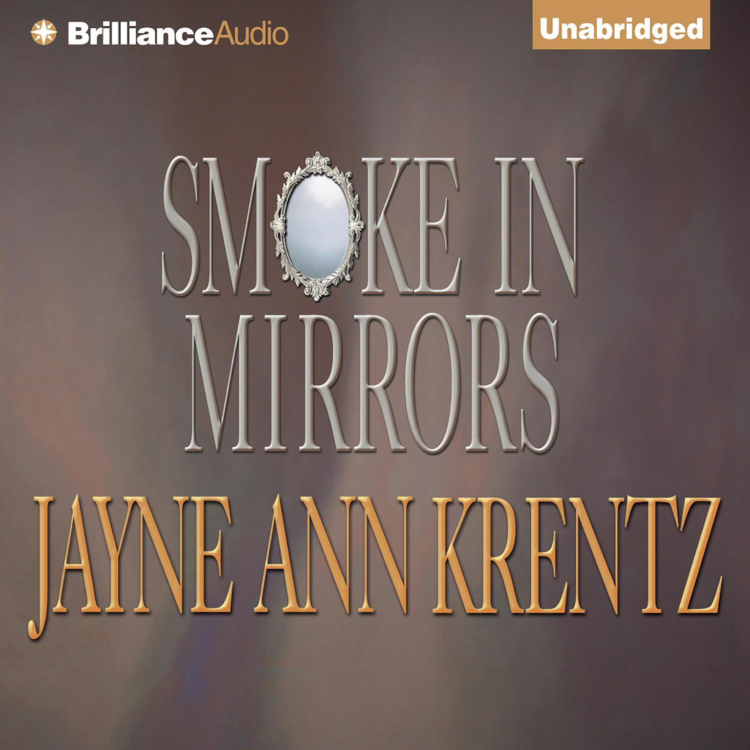 Printable Smoke in Mirrors Audiobook Cover Art
