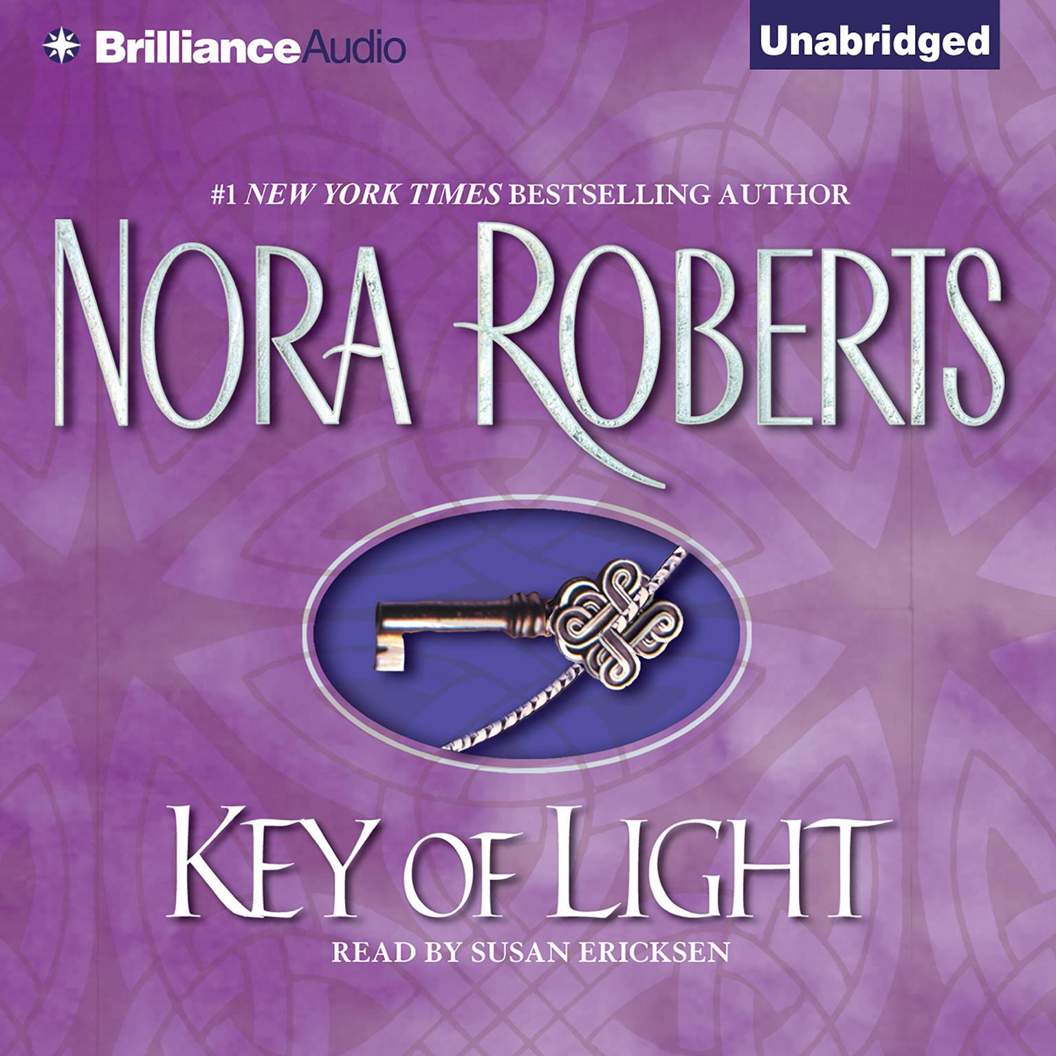 Printable Key of Light Audiobook Cover Art