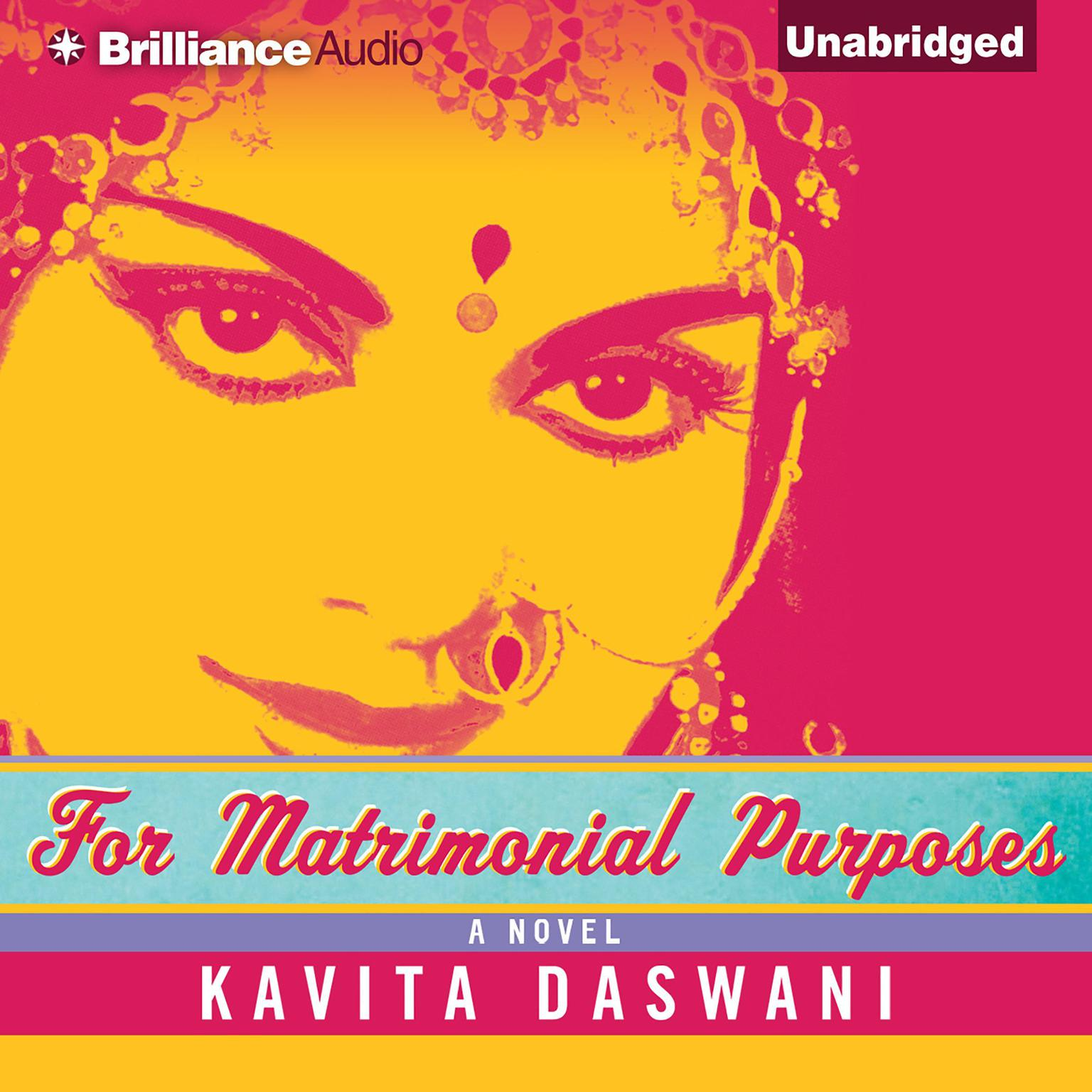 Printable For Matrimonial Purposes Audiobook Cover Art