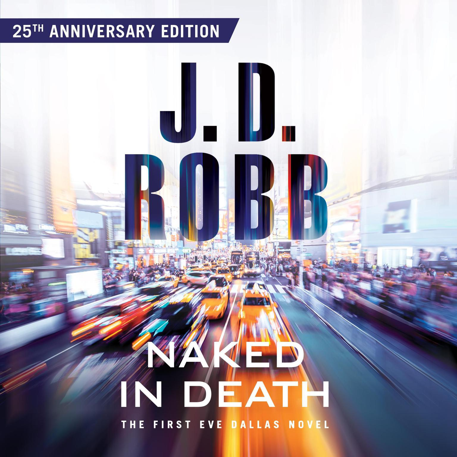 Printable Naked in Death Audiobook Cover Art