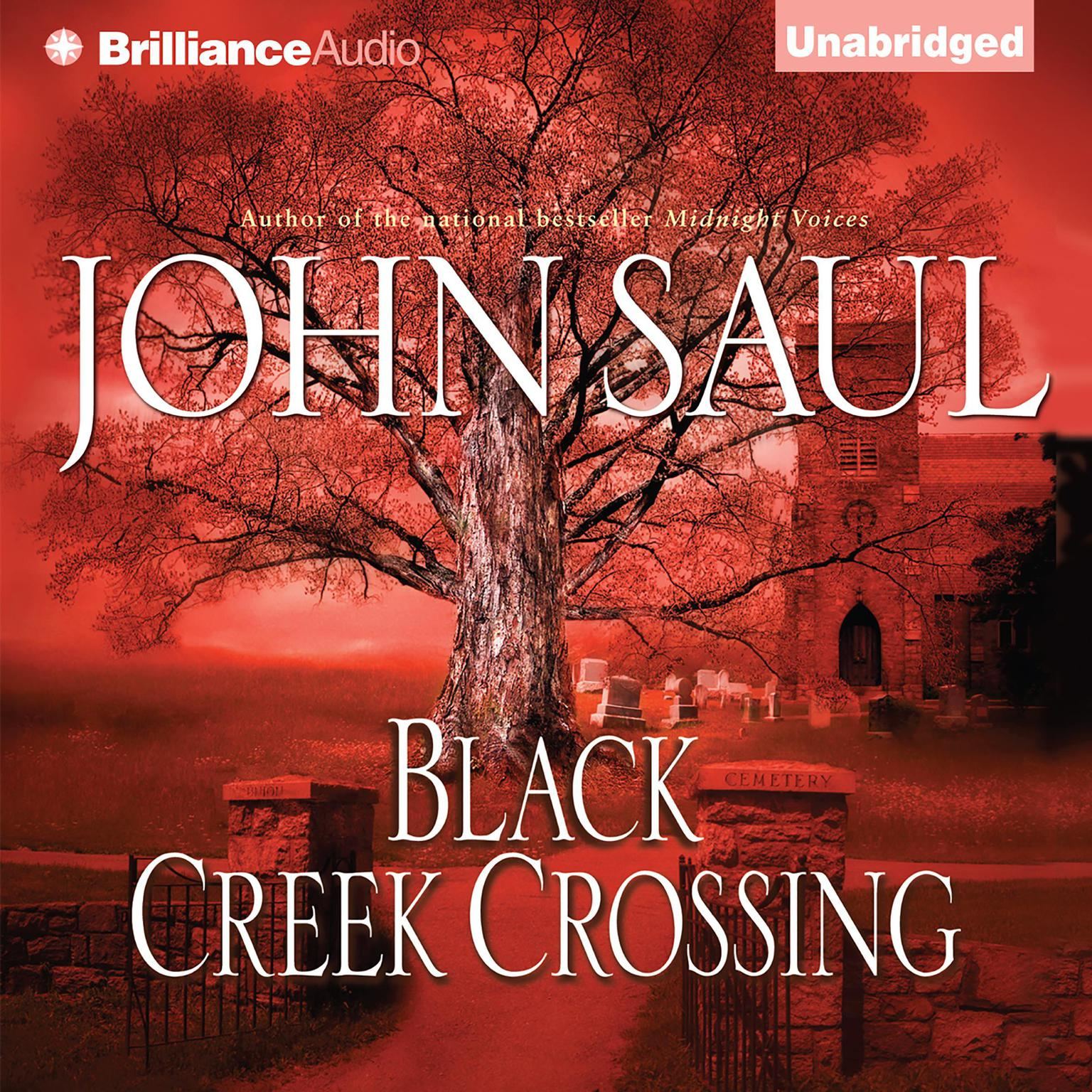 Printable Black Creek Crossing Audiobook Cover Art