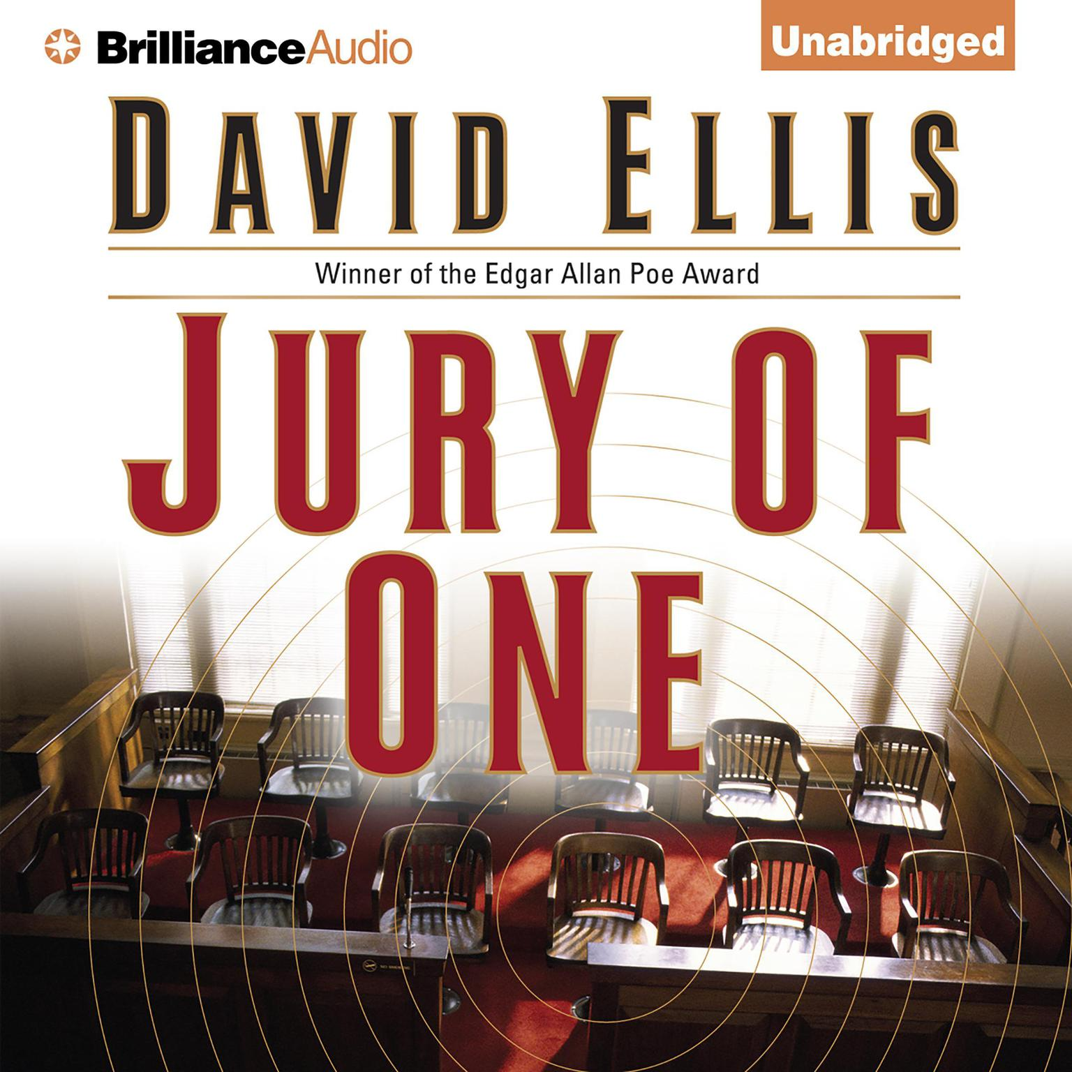 Printable Jury of One Audiobook Cover Art