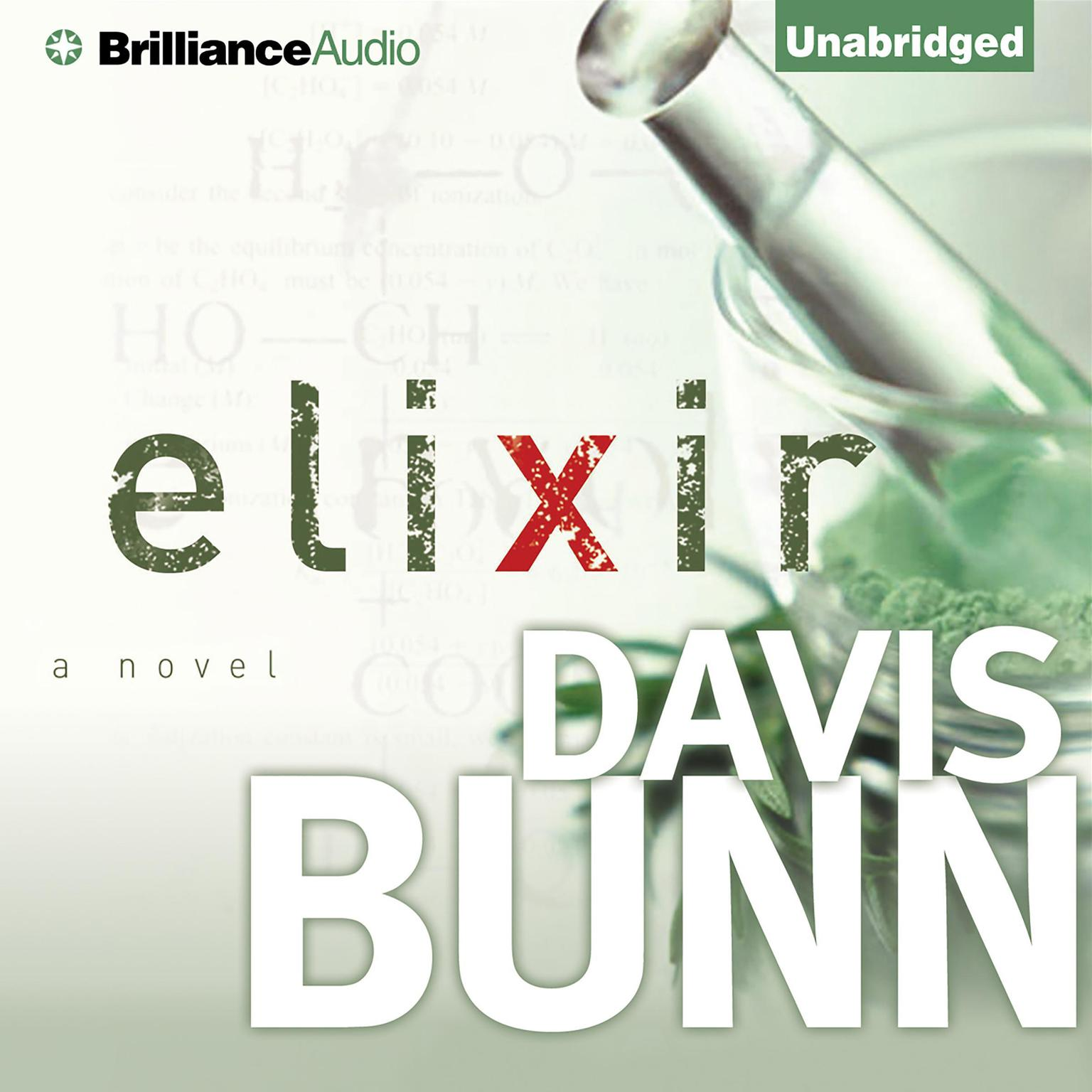 Printable Elixir Audiobook Cover Art