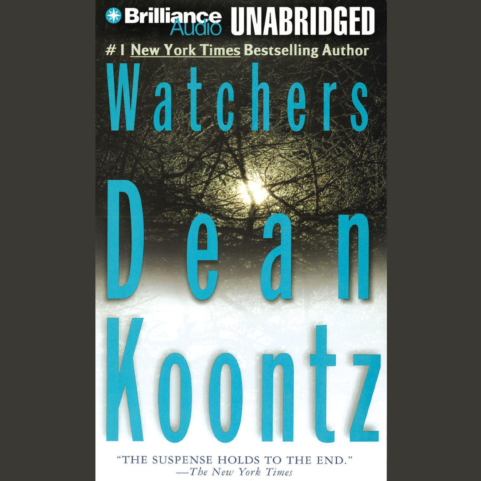 Printable Watchers Audiobook Cover Art
