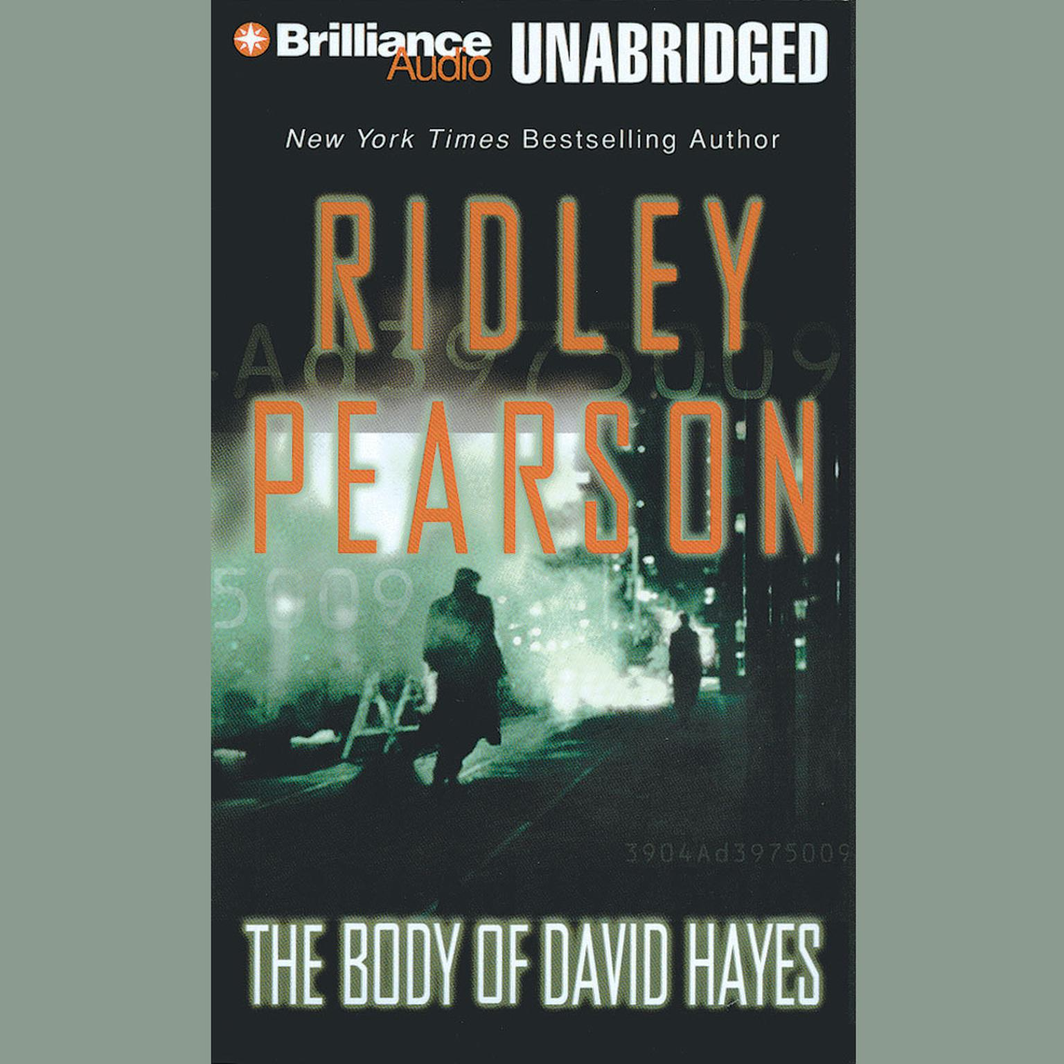 Printable The Body of David Hayes Audiobook Cover Art