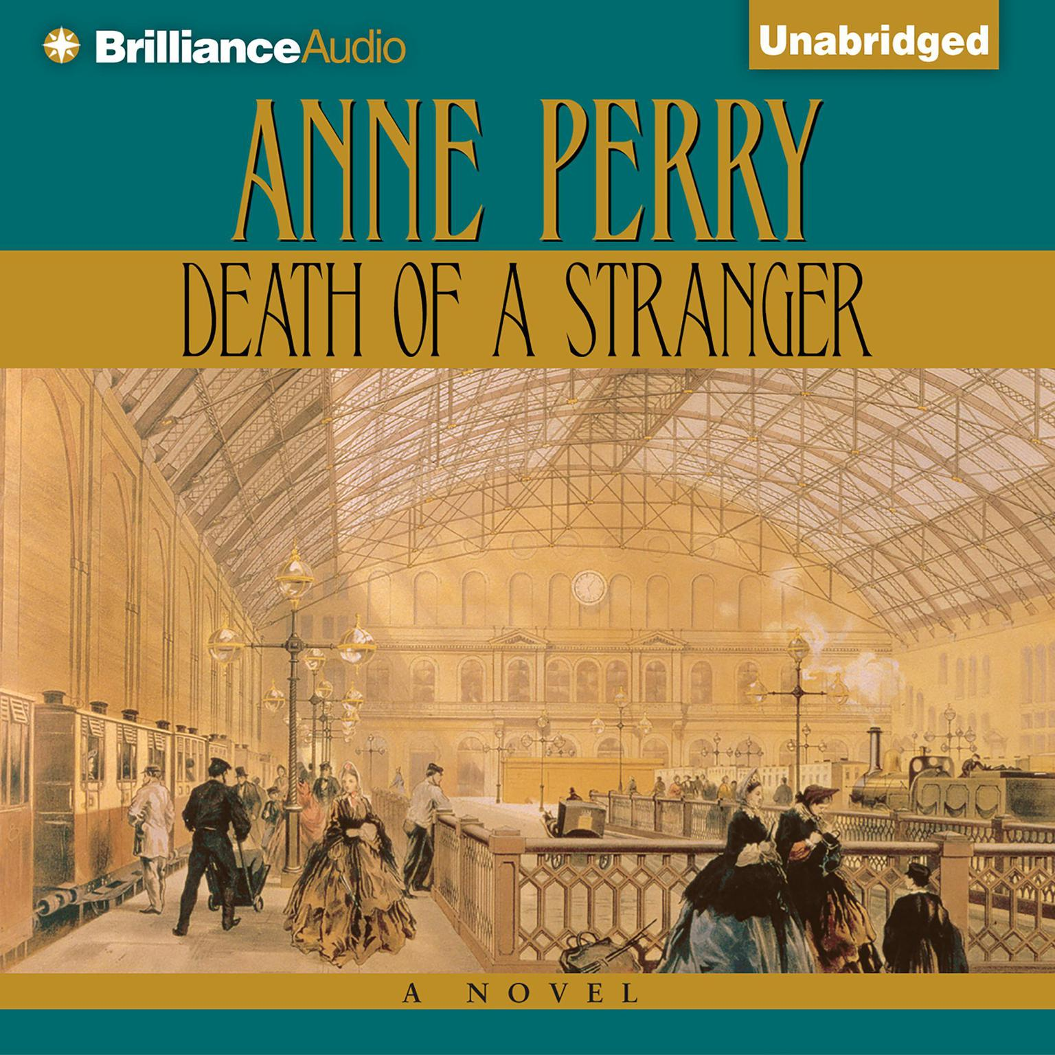 Printable Death of a Stranger Audiobook Cover Art