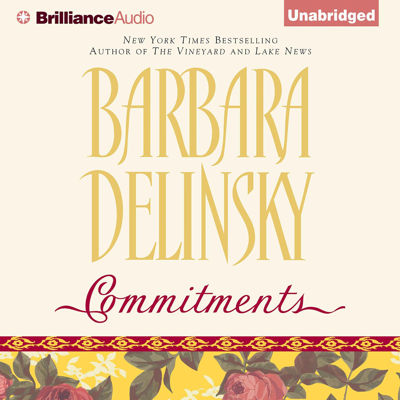 Printable Commitments Audiobook Cover Art