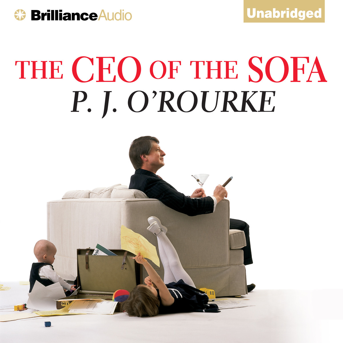 Printable The CEO of the Sofa Audiobook Cover Art