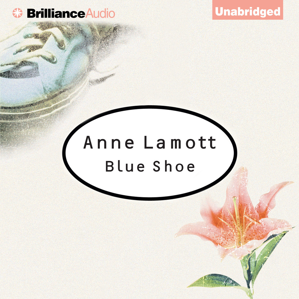 Printable Blue Shoe Audiobook Cover Art