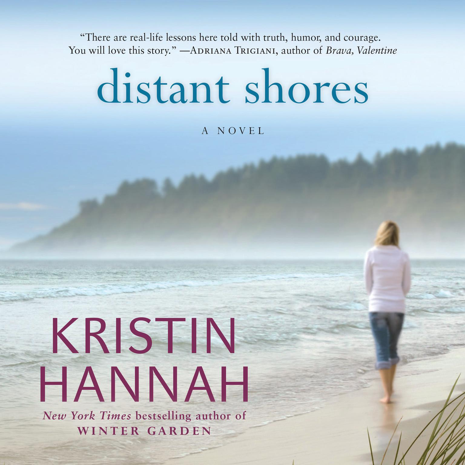 Printable Distant Shores Audiobook Cover Art