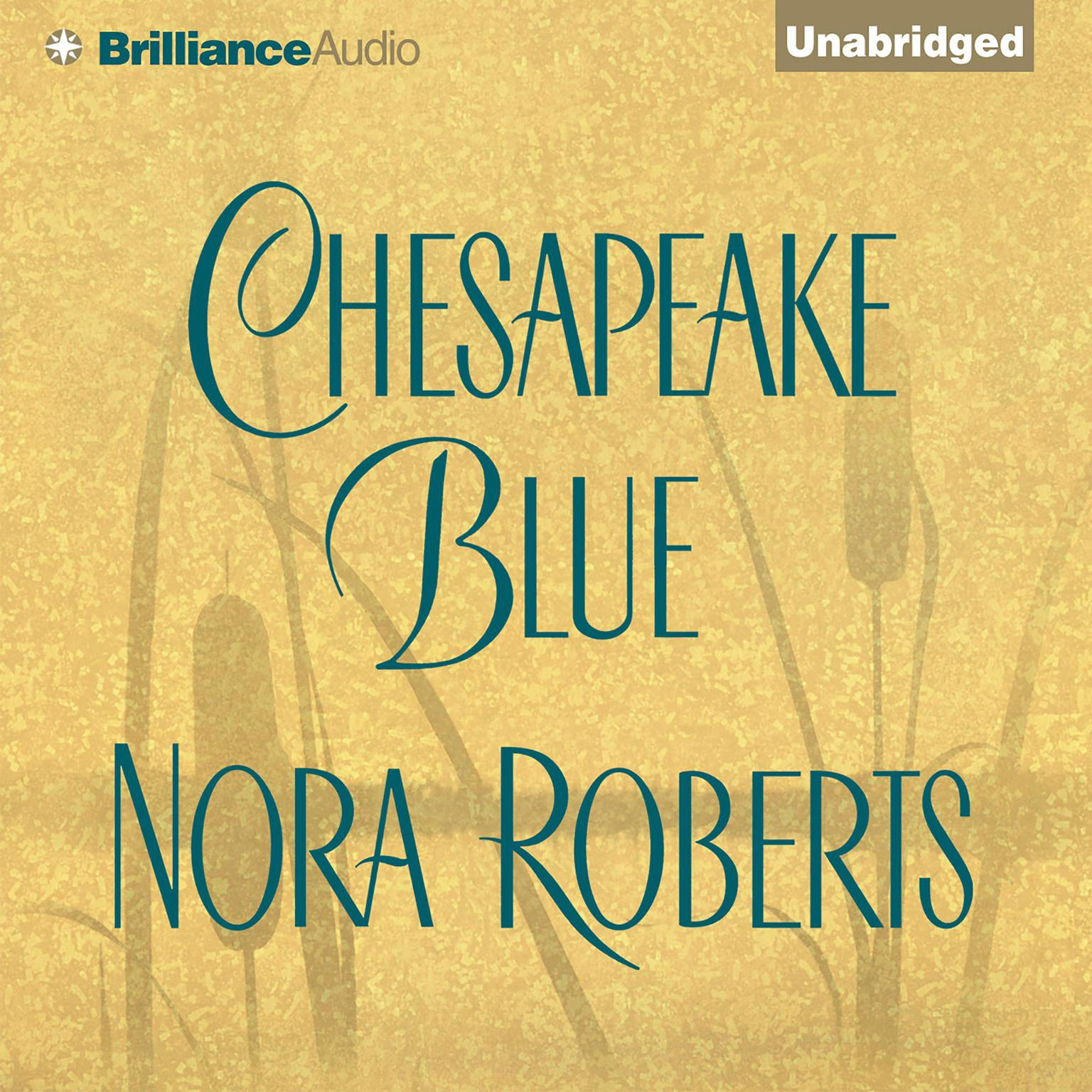 Printable Chesapeake Blue Audiobook Cover Art